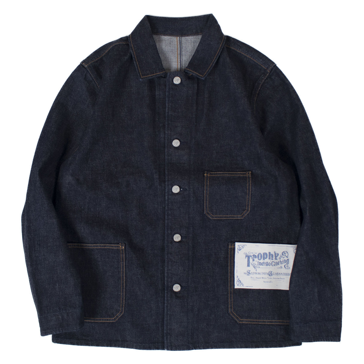 AUTHENTIC DENIM COVERALL