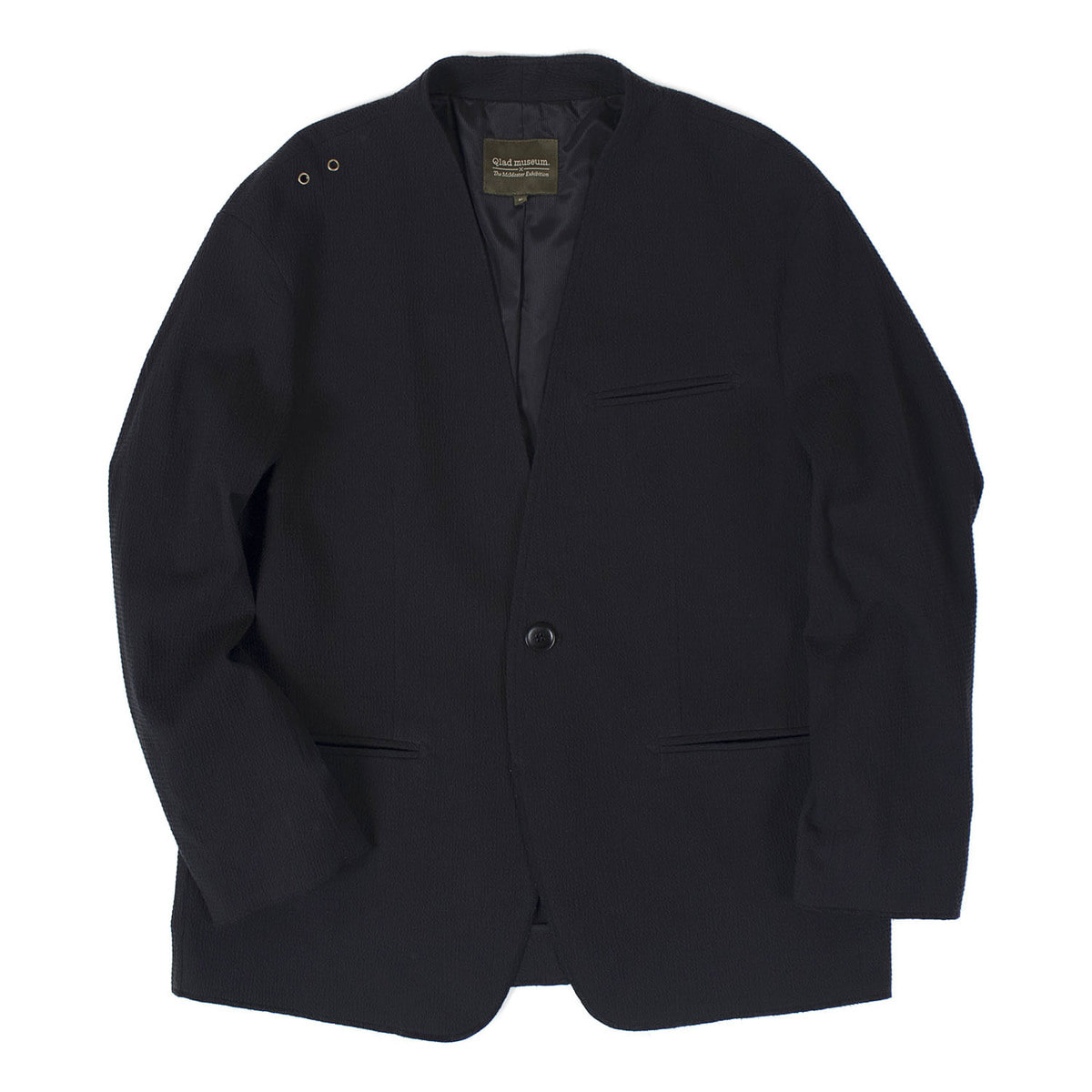 Inno Seersucker Single Jacket (Black)