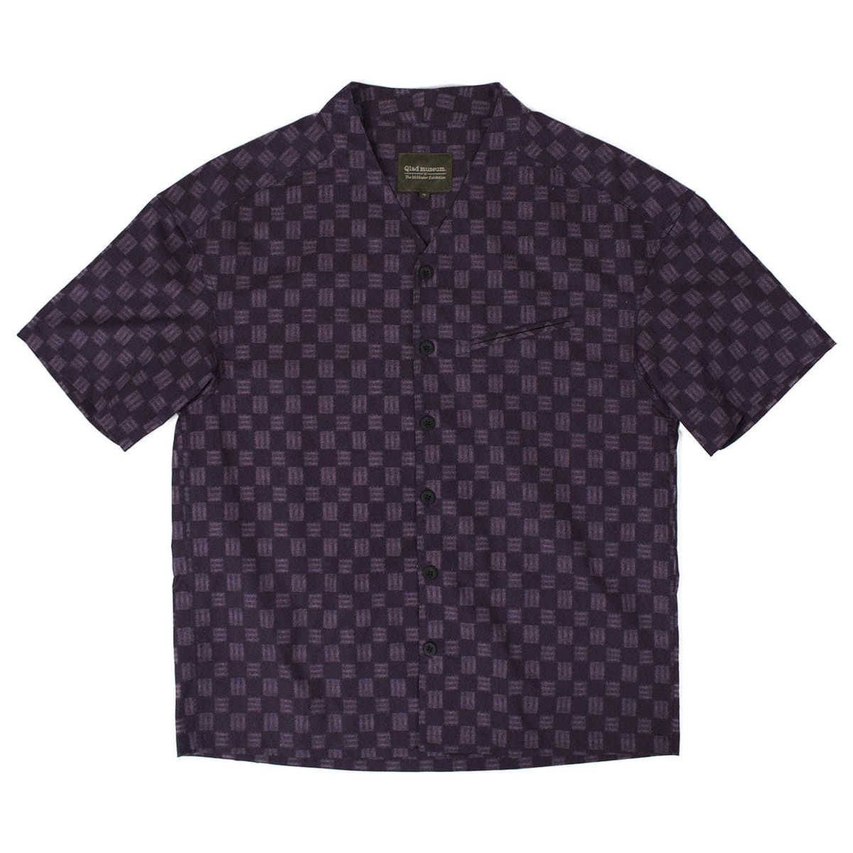 Triangle Half Shirt (Purple)