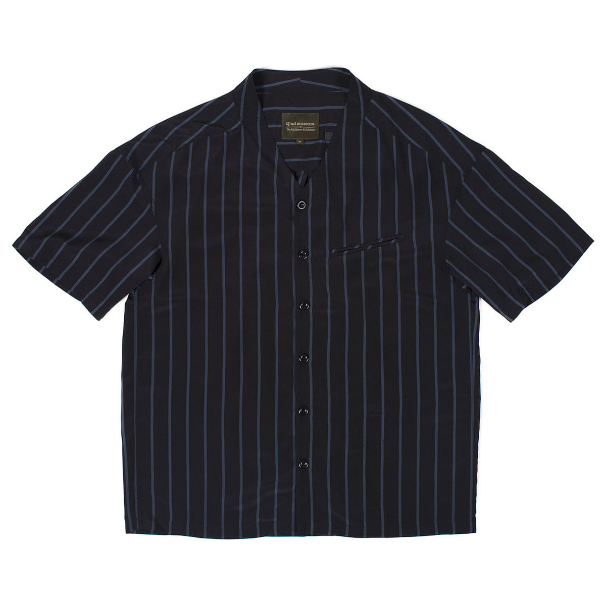 Triangle Half Shirt (Blue Stripes)