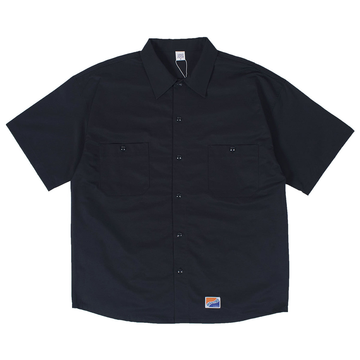 Basic Oversized Shirts (Navy)