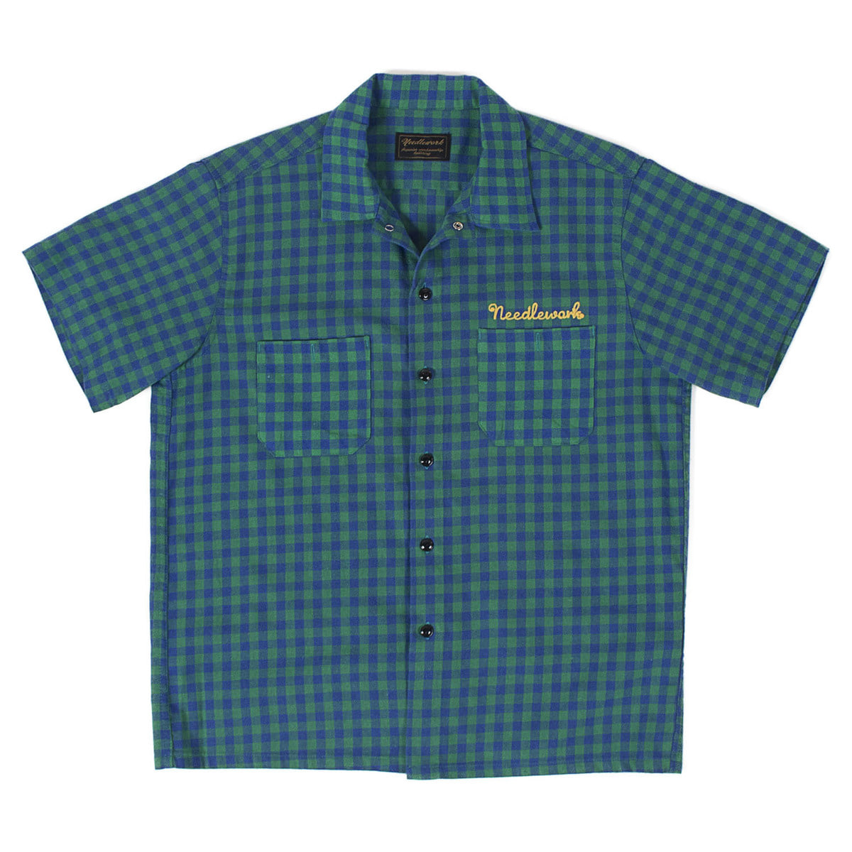 Vintage Work Shirts (Green & Blue)