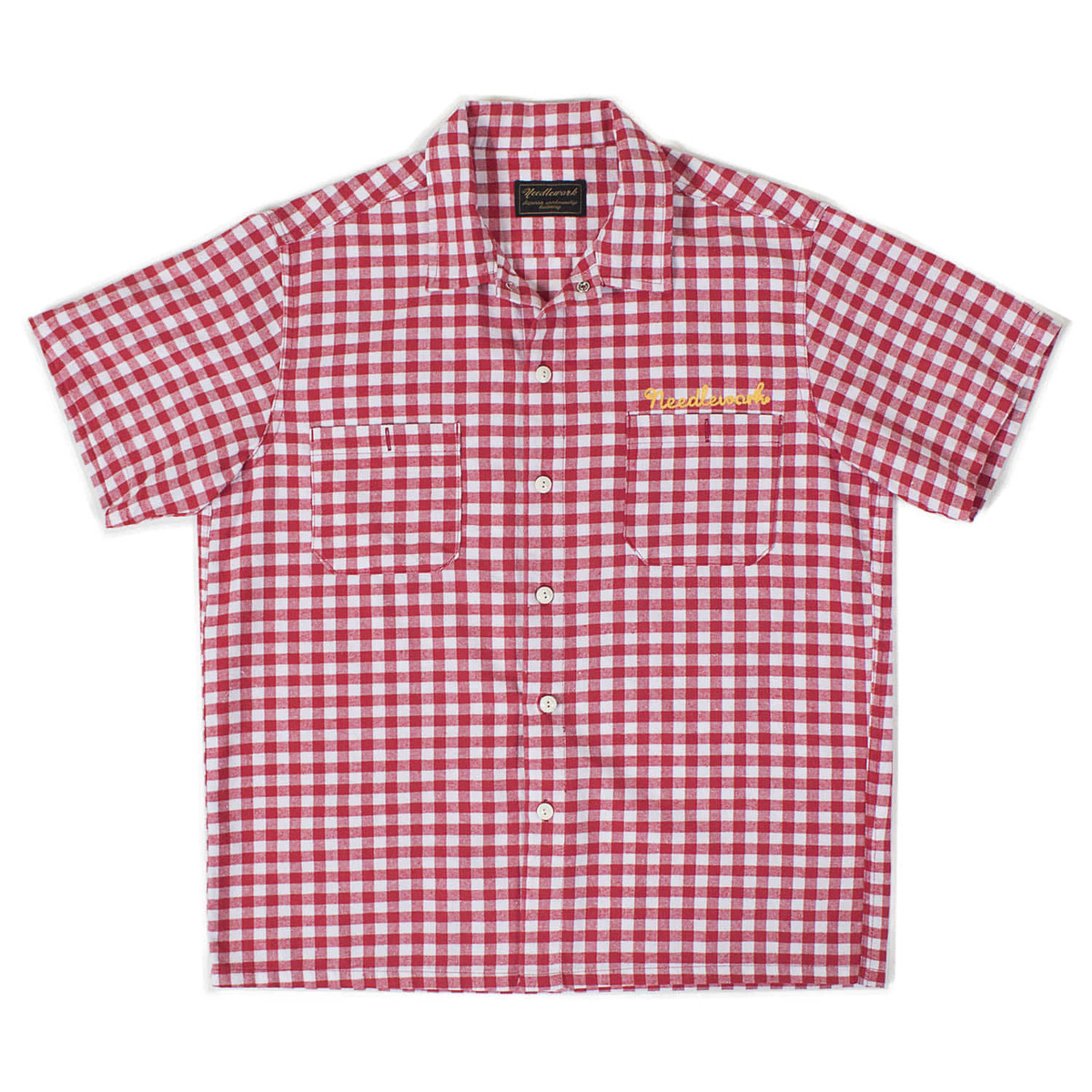 Vintage Work Shirts (Red & White)