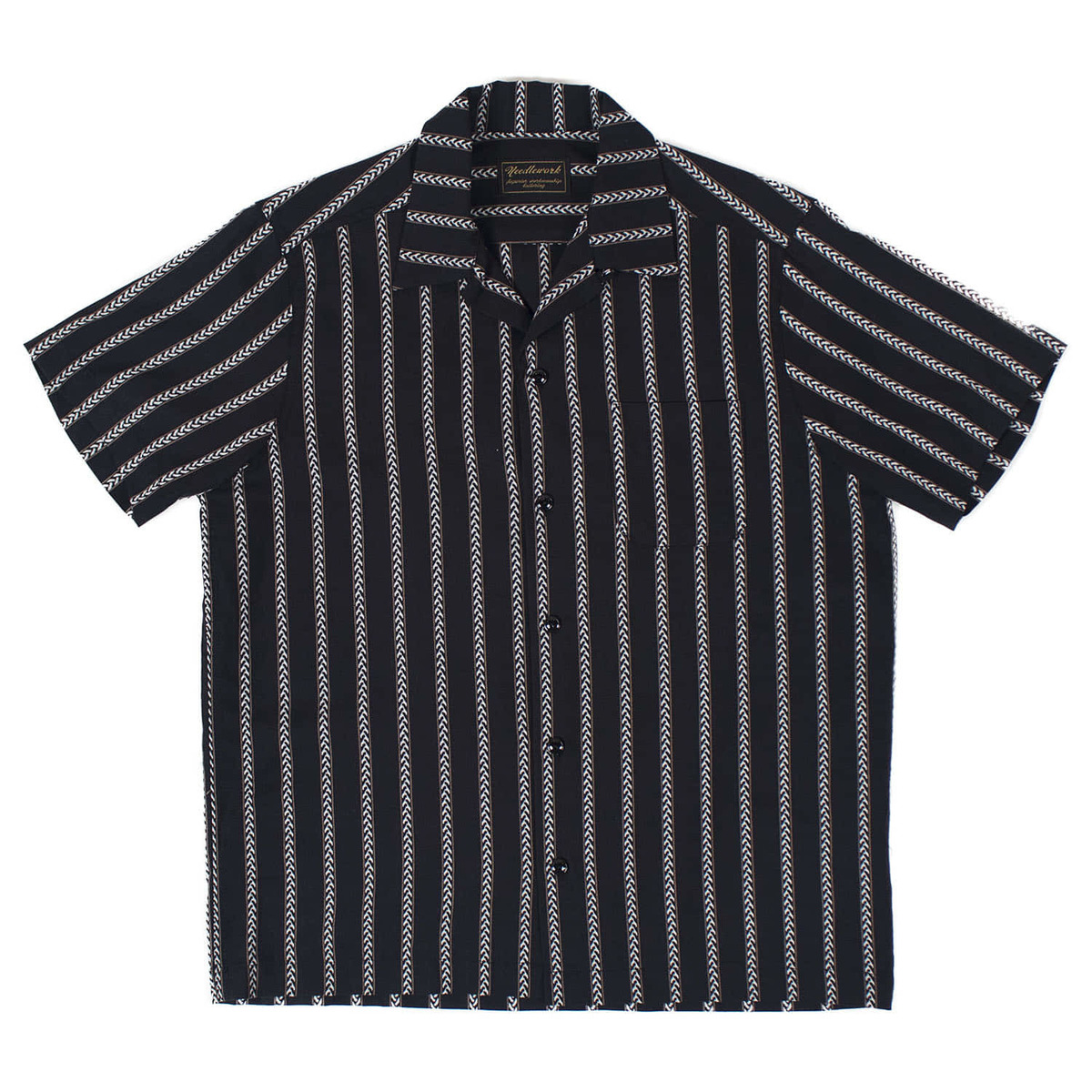 Native Stripe Shirts (Black)