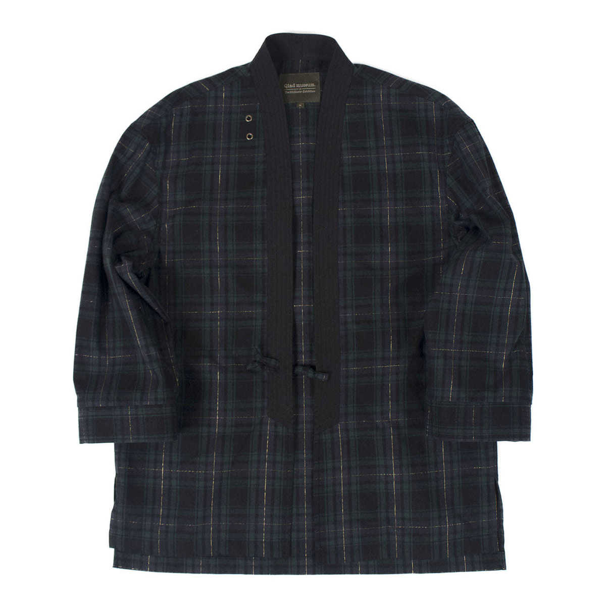 "Relaxed Haori Jacket ""Tartan Check"""