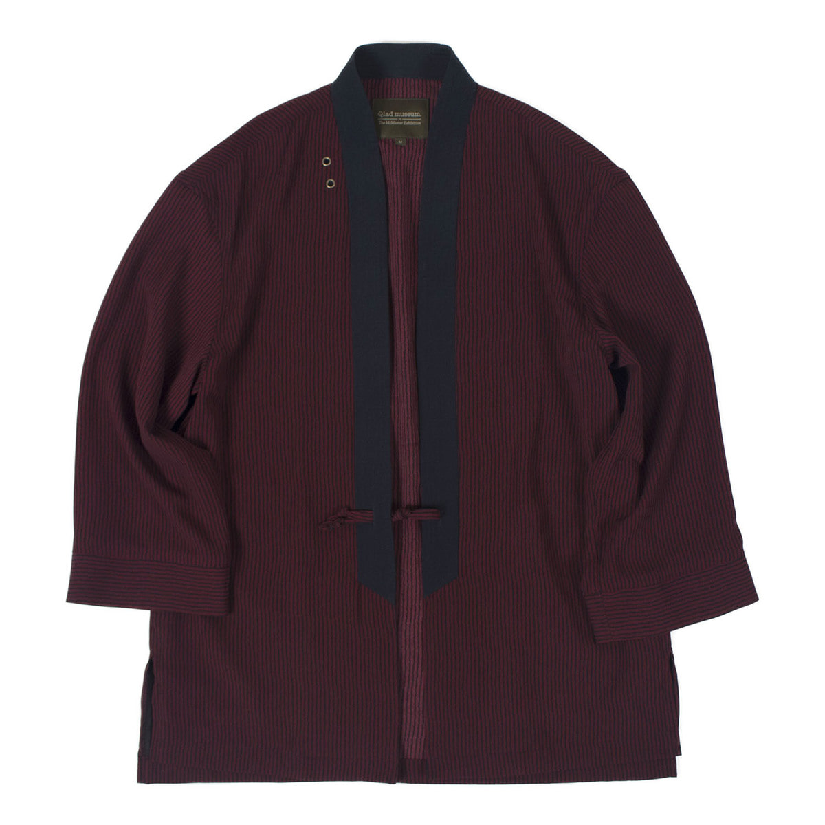 Relaxed Haori Jacket (Burgundy)