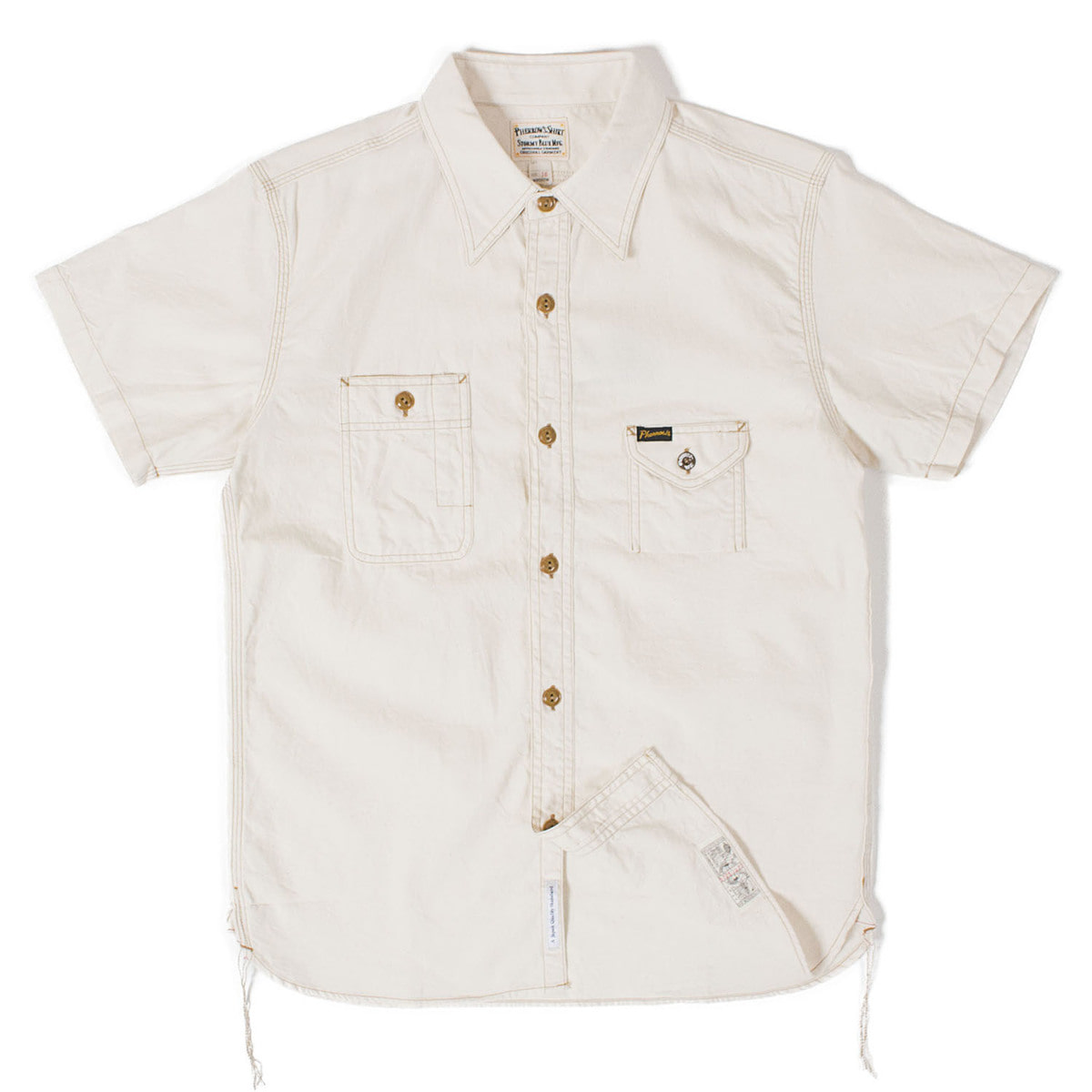 Chambray Work Shirts 750WSS (off white)
