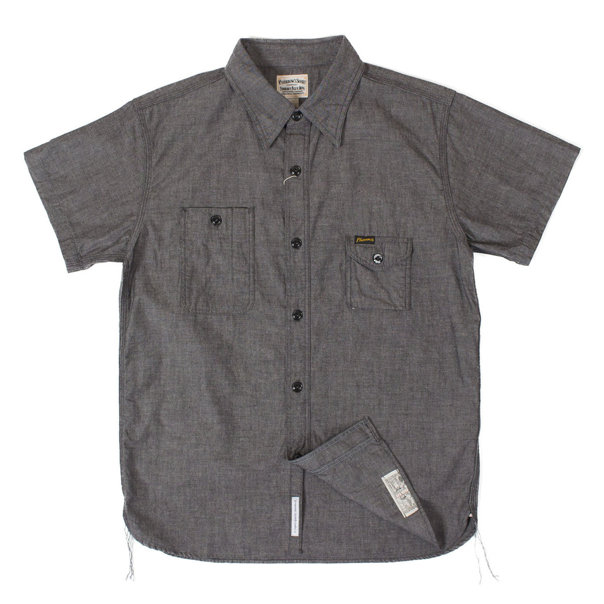Chambray Work Shirts 750WSS (Black)