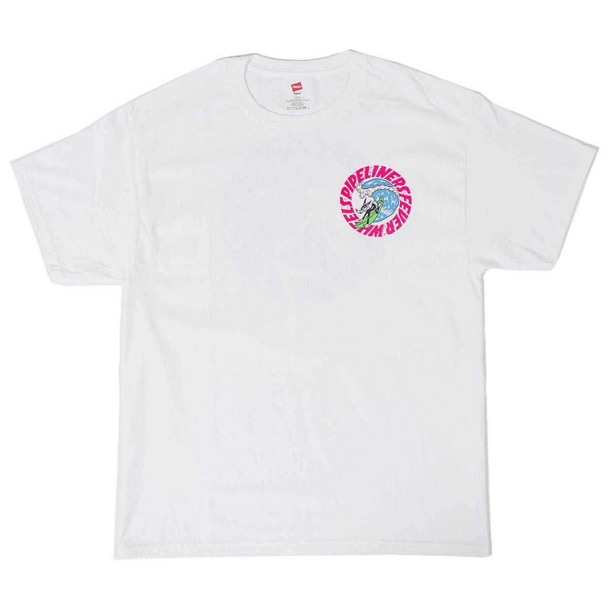 Pipeliners Fever Tee (White)
