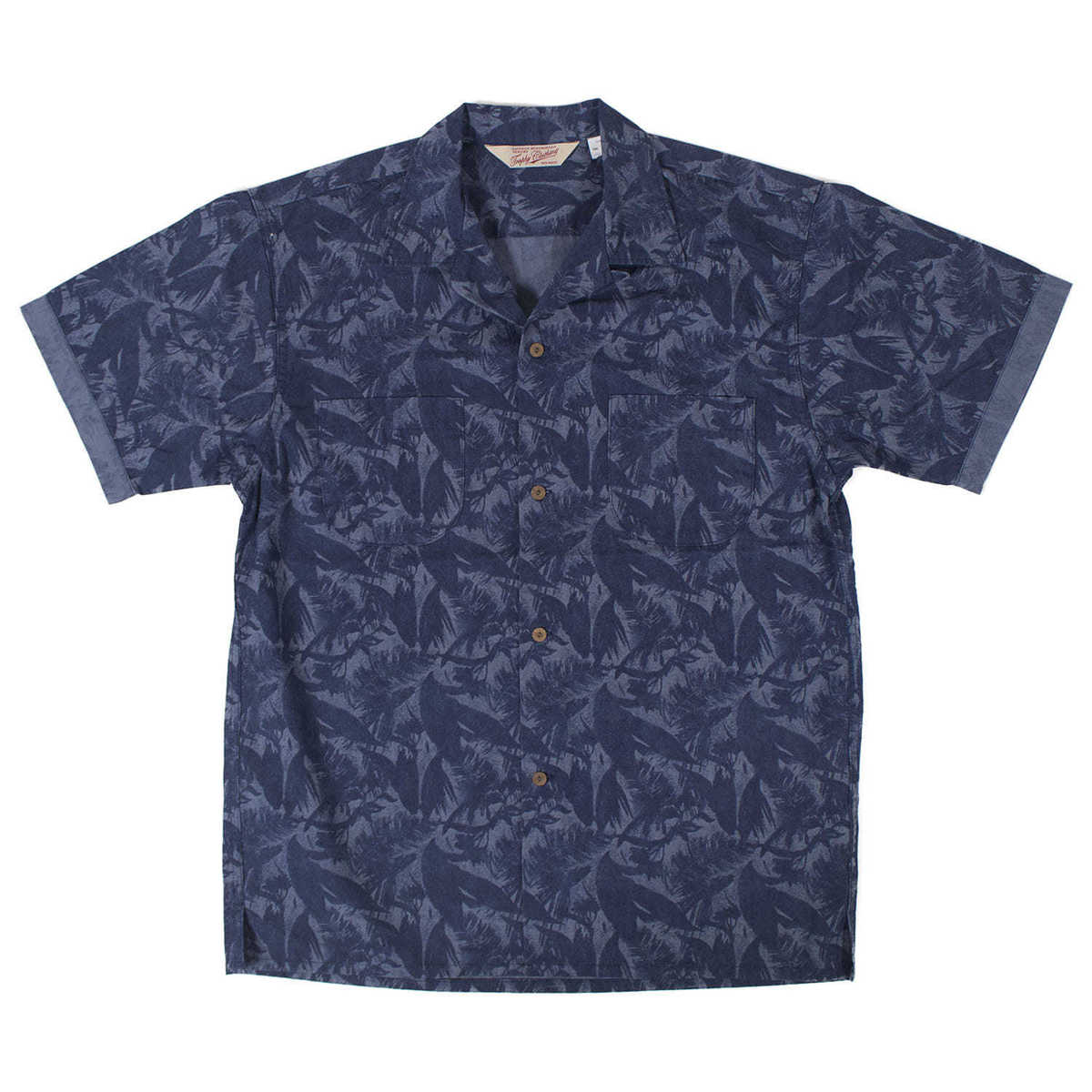 Sun Rise Leaf Shirts (Blue)