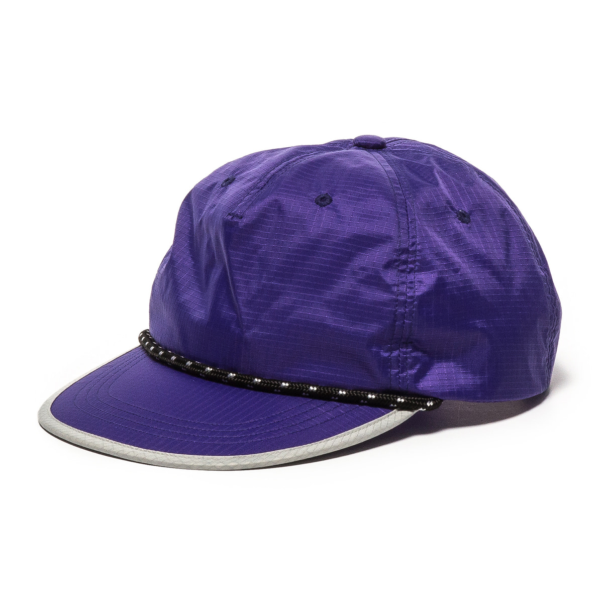 N.Ripstop Cap A1 (Purple)