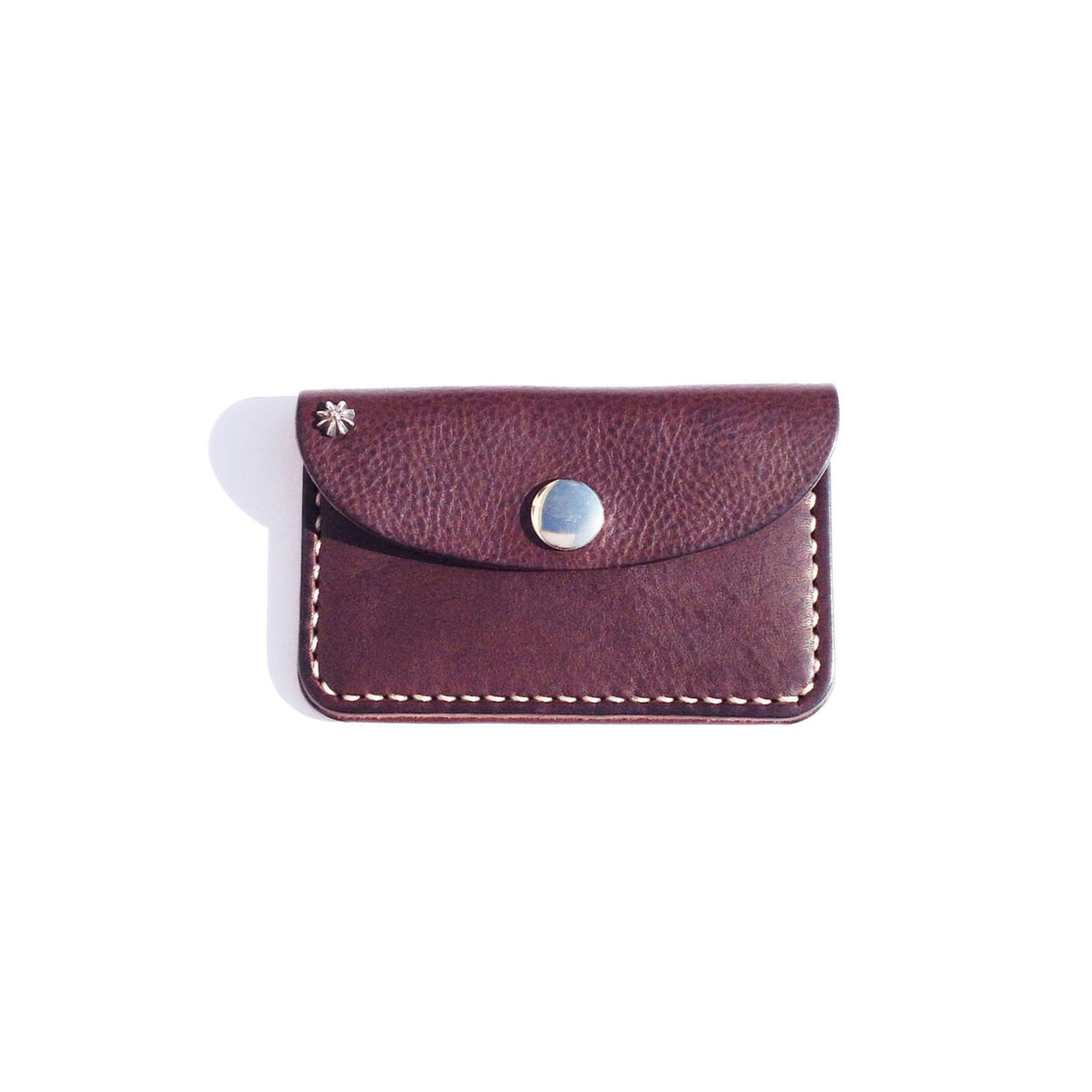 Leather Card Case (Dark Brown)