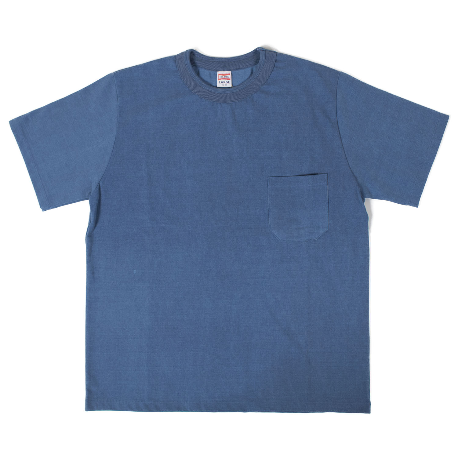 Pigment Pocket T-shirts (Navy)