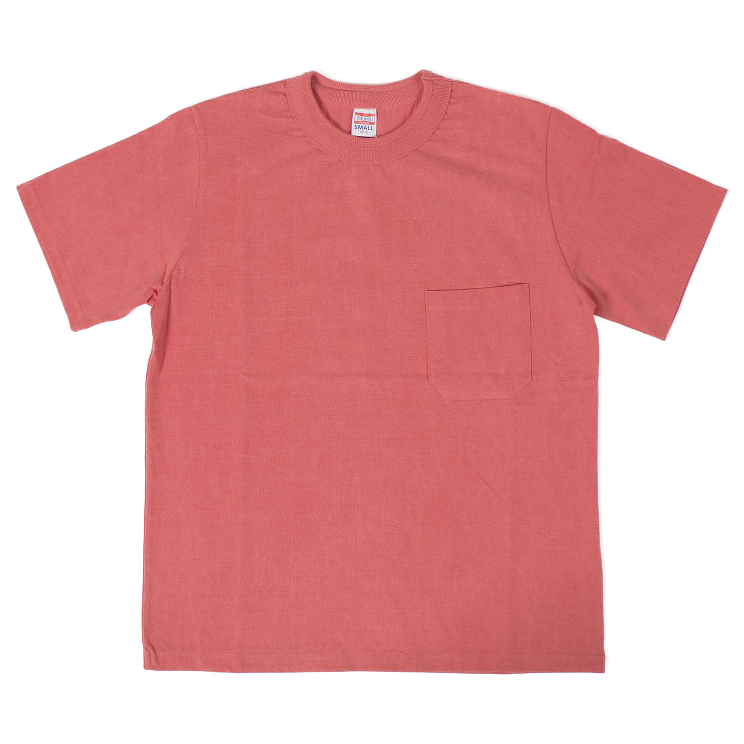 Pigment Pocket T-shirts (Salmon)