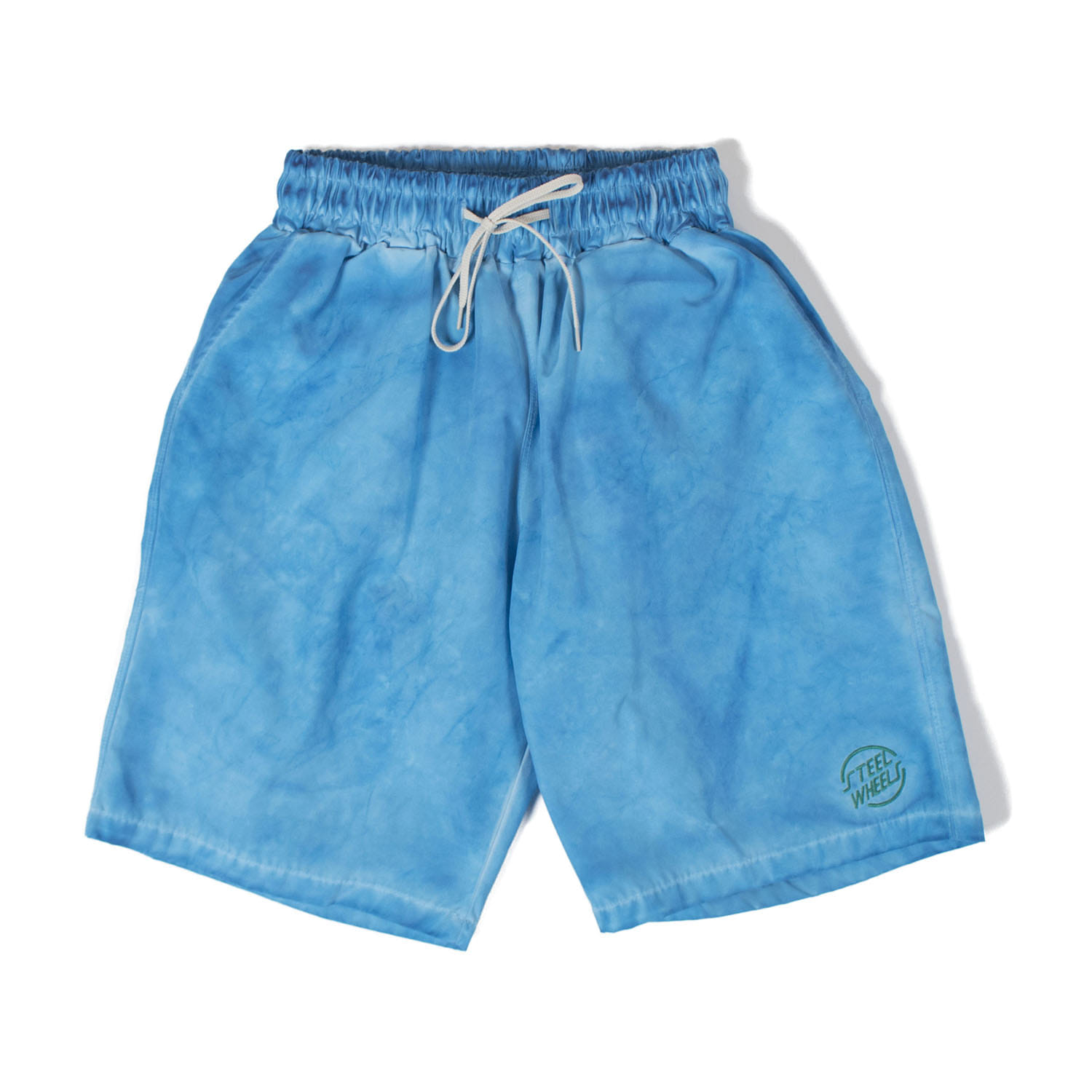 Hand garment Dyeing Shorts (Blue)