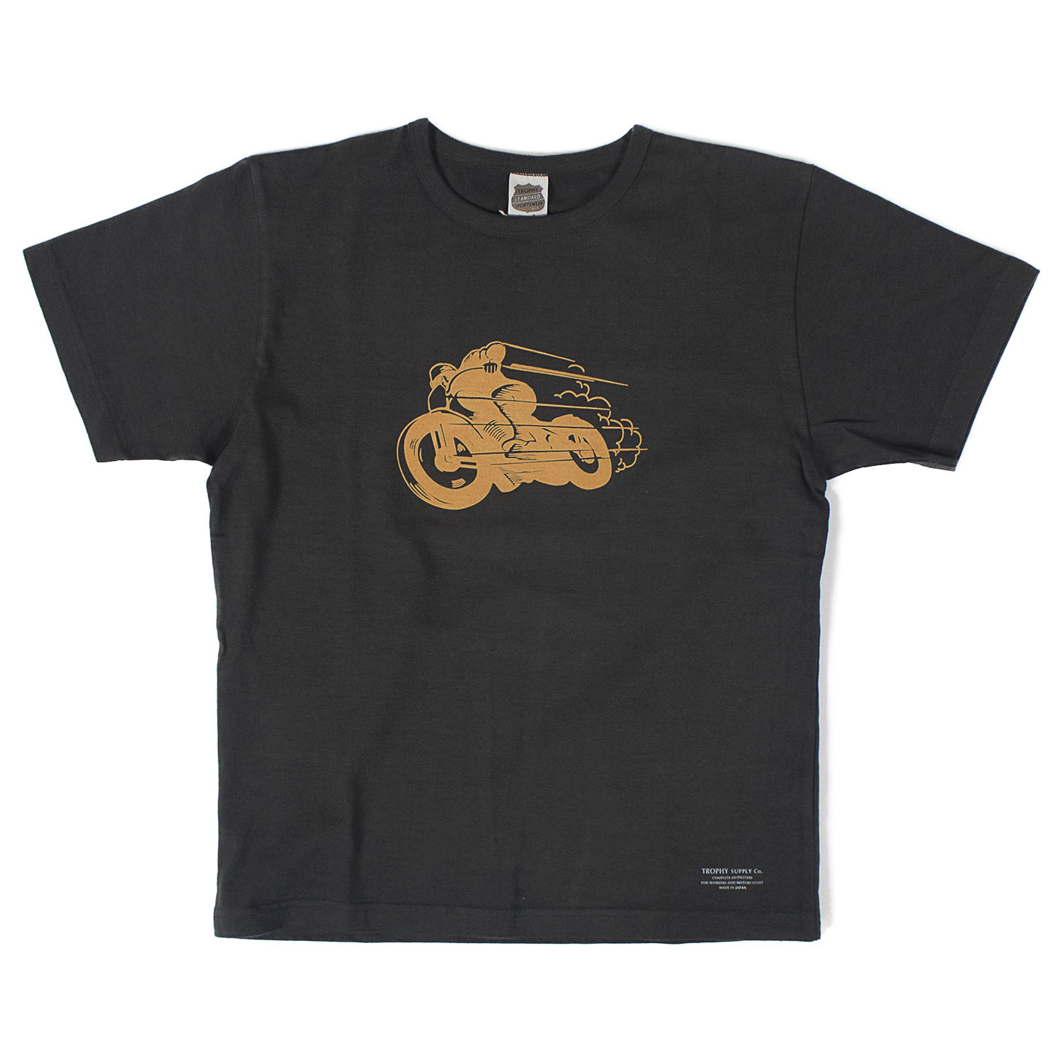 Old Racer CD Crew Tee (Gun Black)