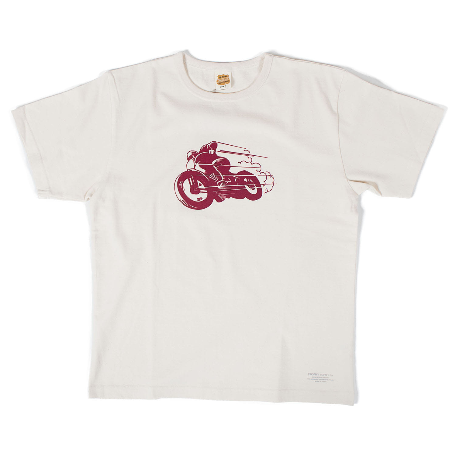 Old Racer CD Crew Tee (Natural)