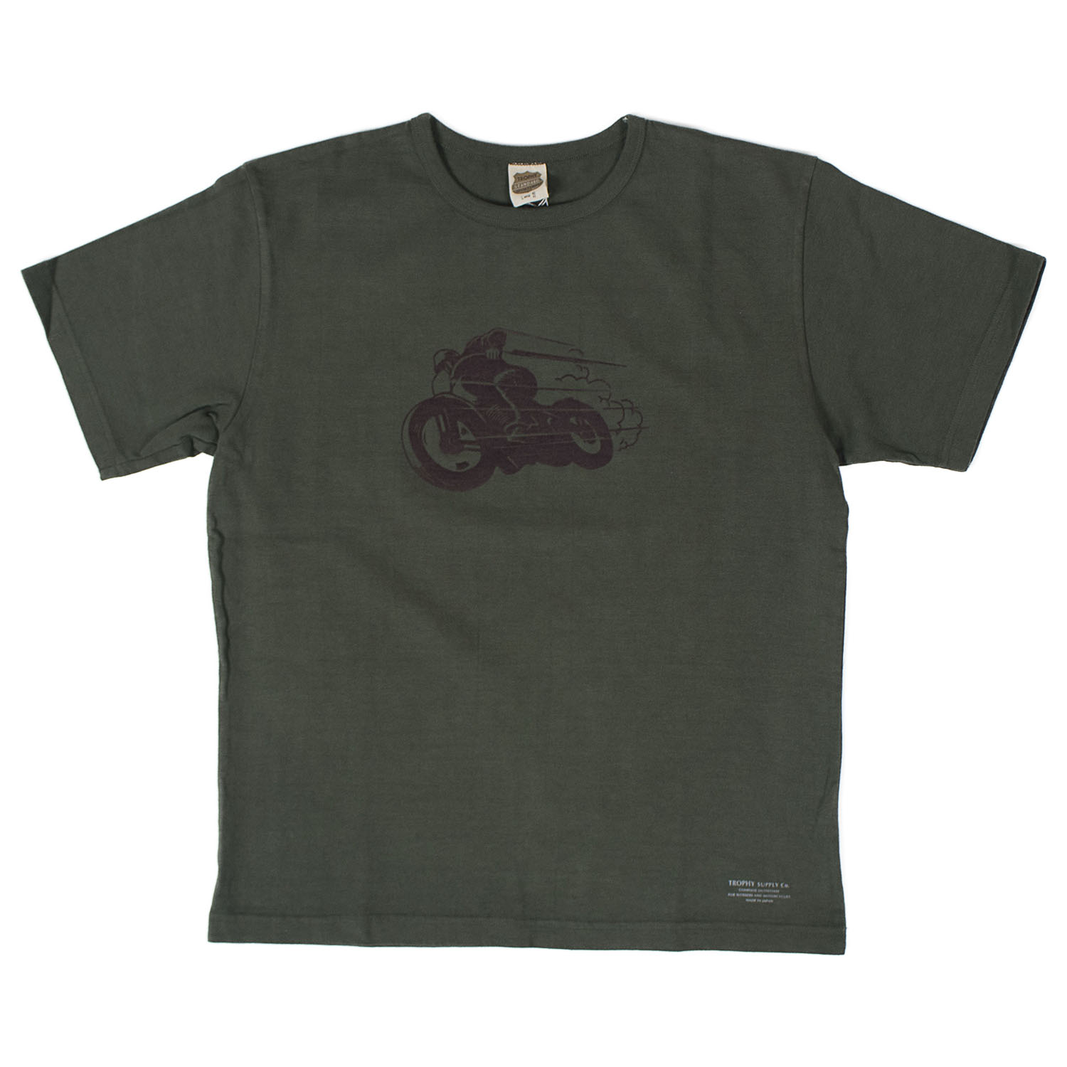Old Racer CD Crew Tee (Green)