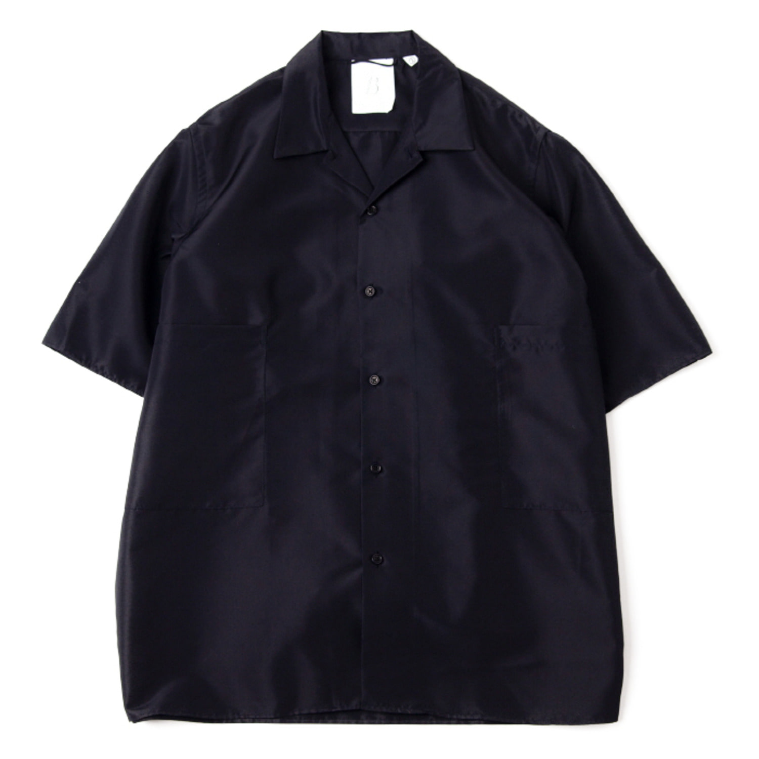 Convertible Collar Shirts 02 (Navy)
