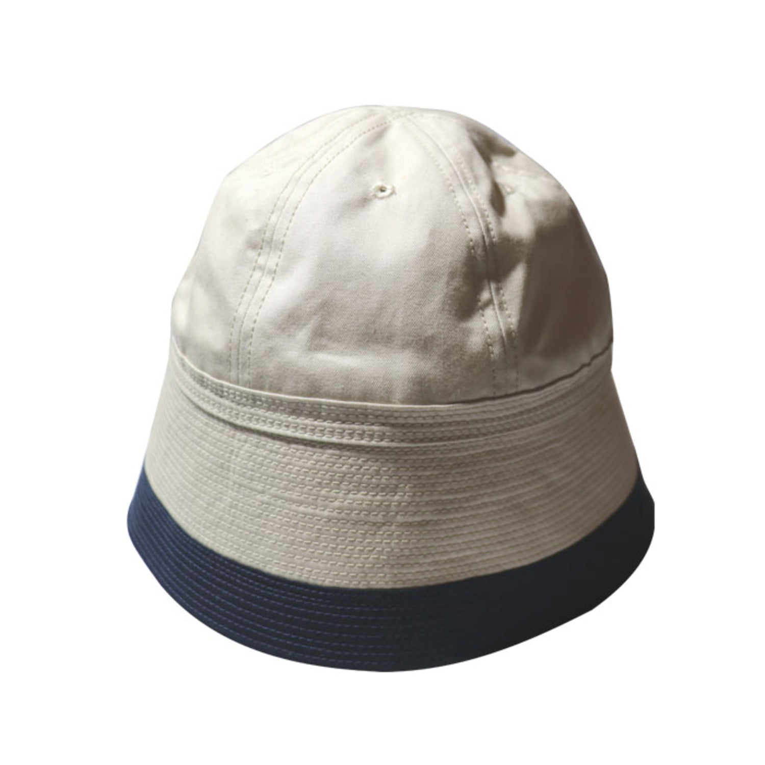 2 Tone Sailor Hat (Natural)