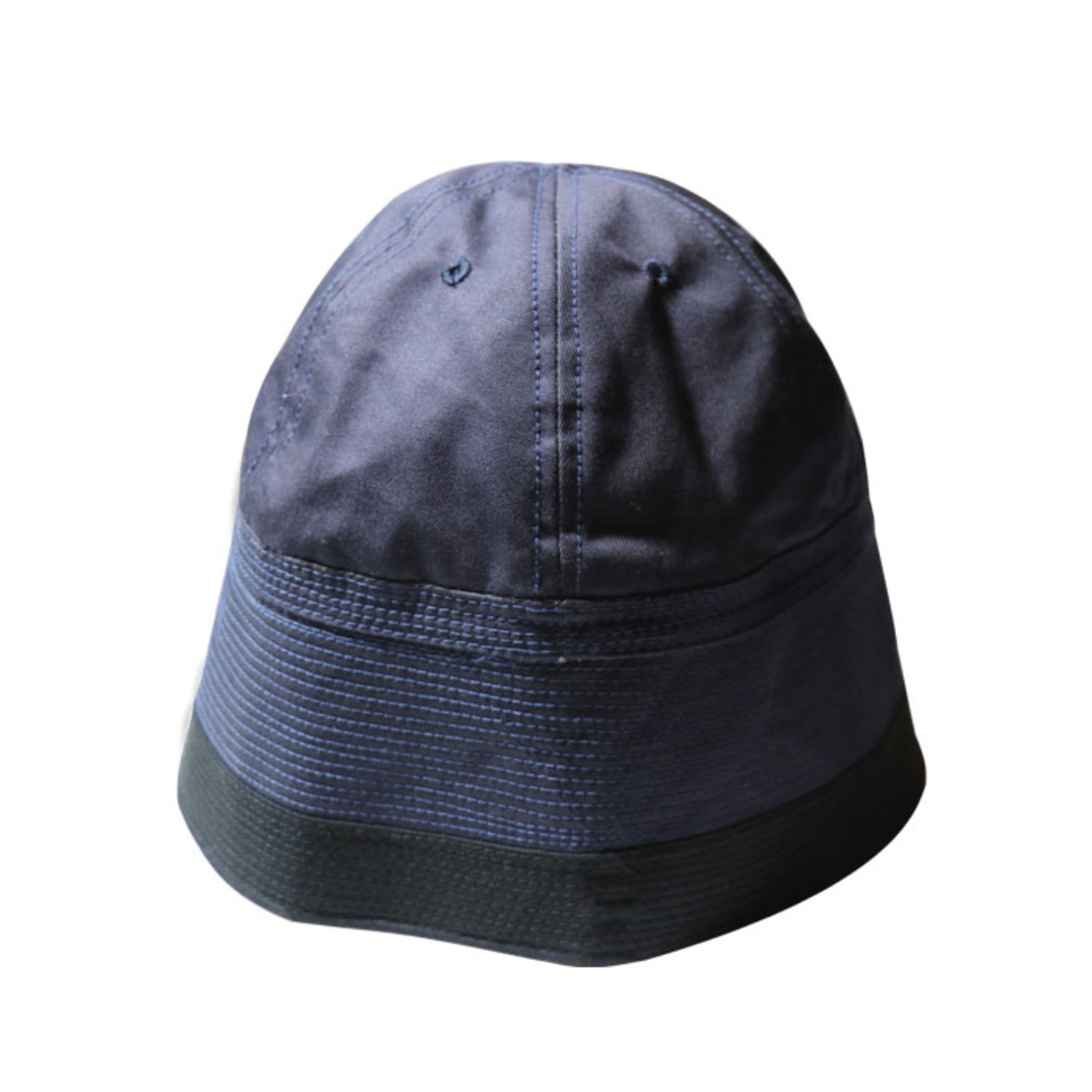 2 Tone Sailor Hat (Navy)