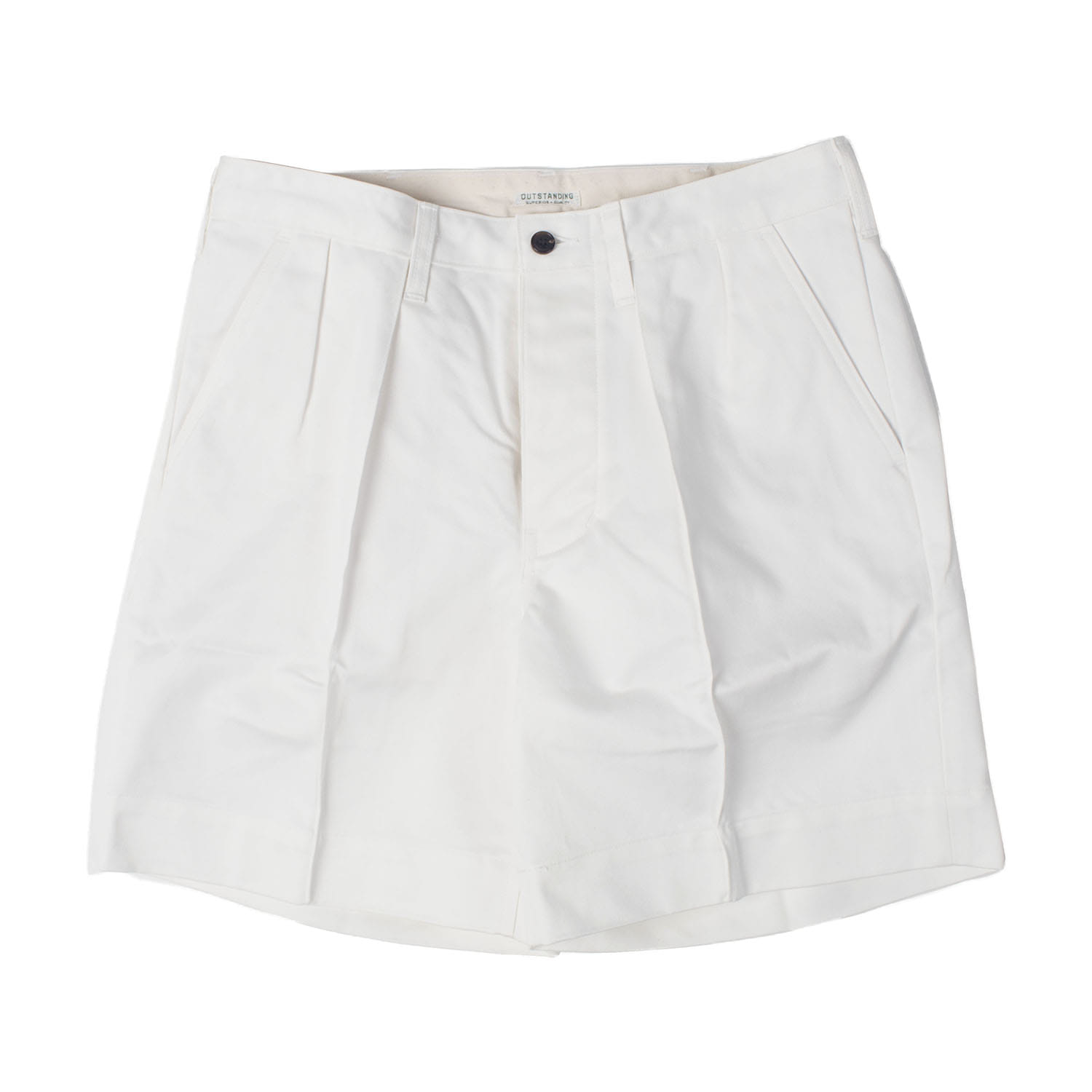 Officer Military Chino Shorts (off white)