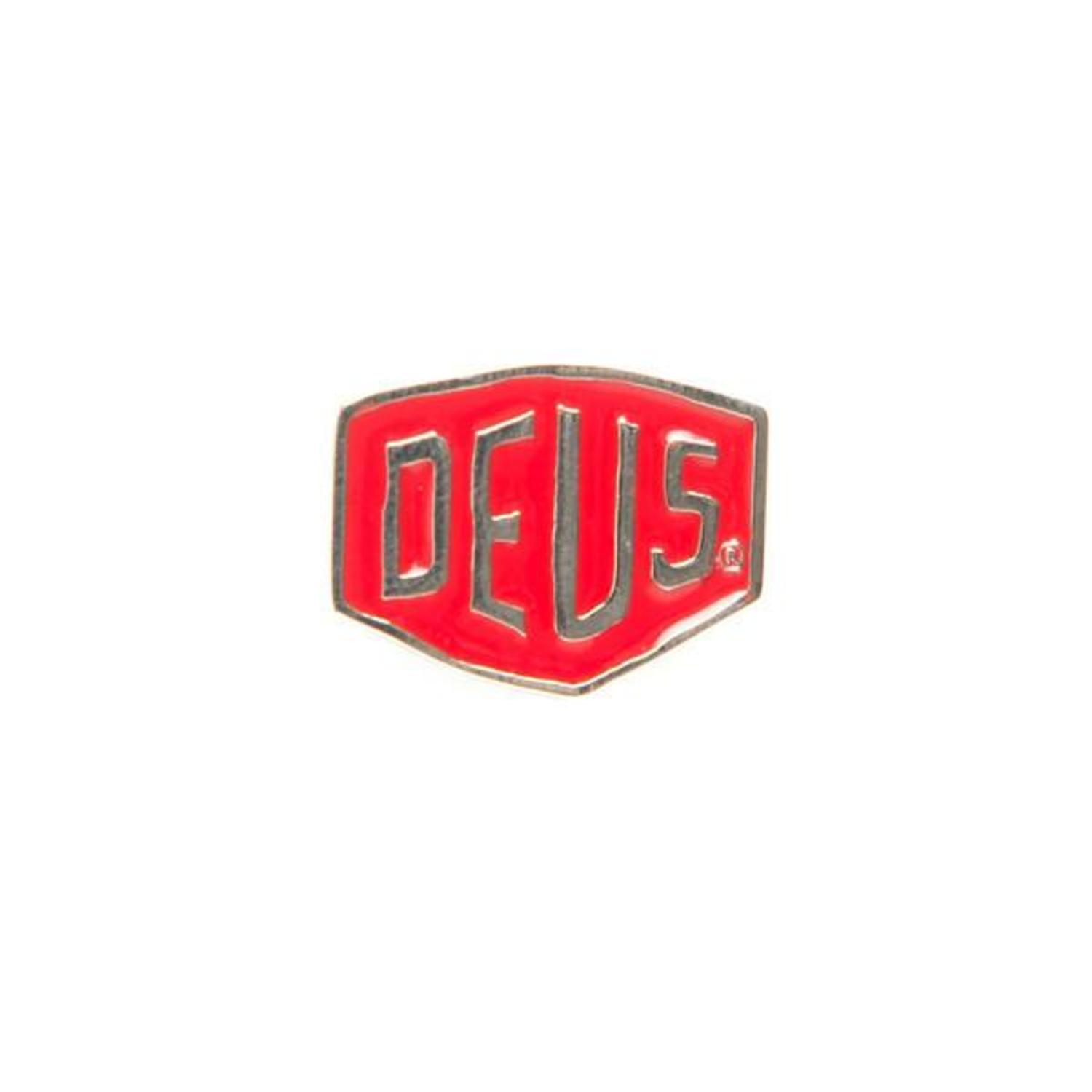 DEUS Shied Badges (Red)