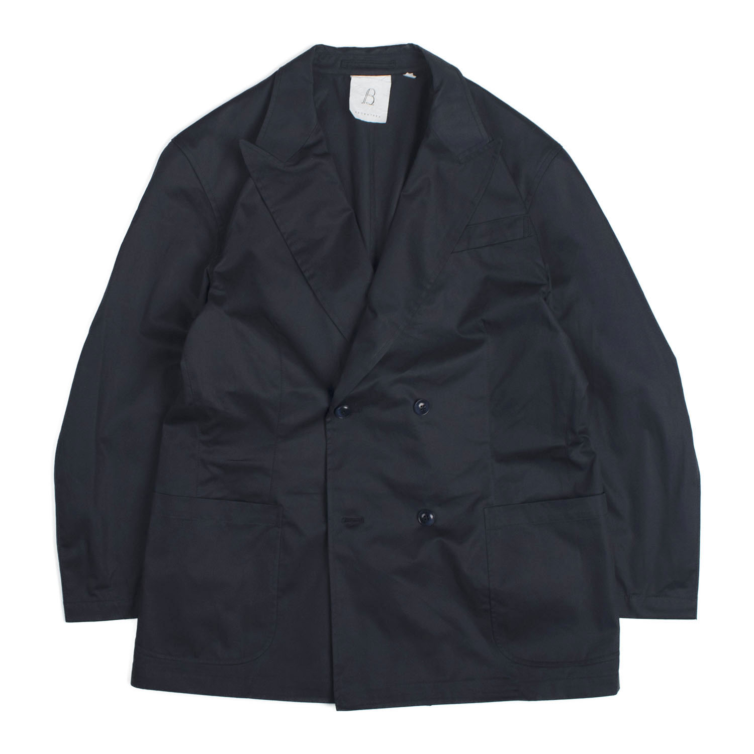 Brownyard Double Breasted Jacket (Navy)