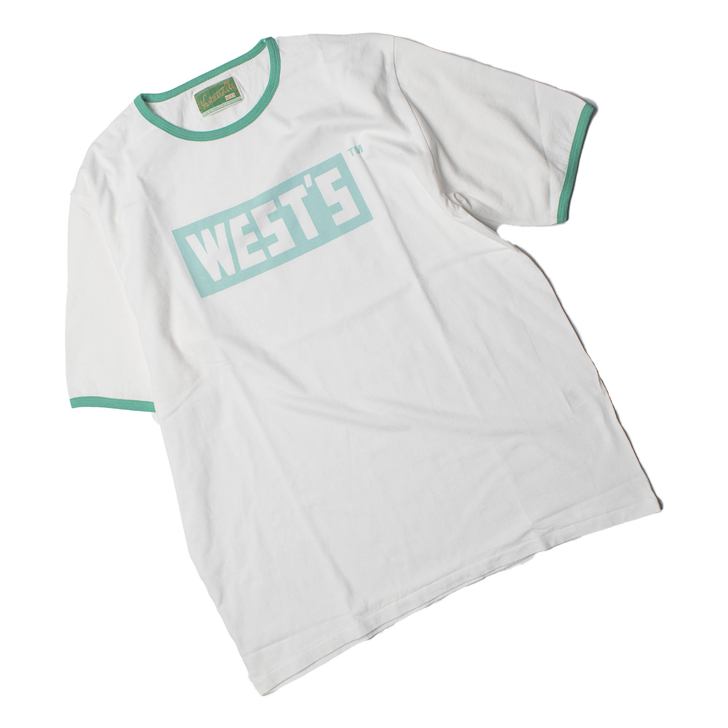 WEST'S Ringer T-Shirts (E.Green)