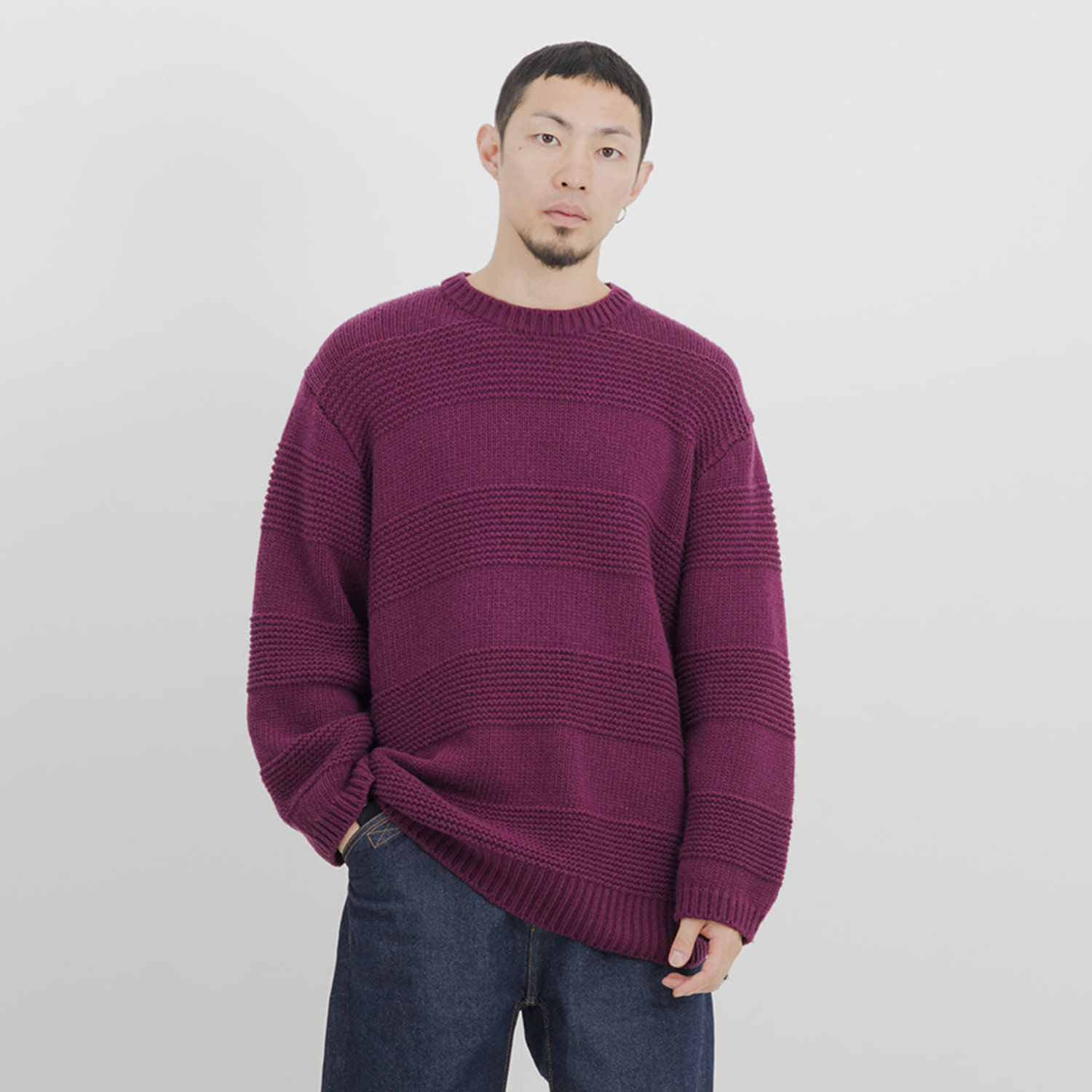 Crewneck Sweater (Purple)