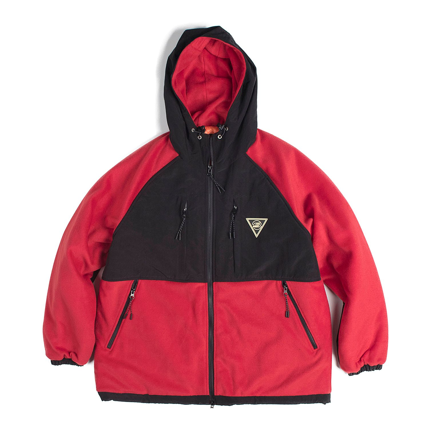 S-Fleece Parka (Red)