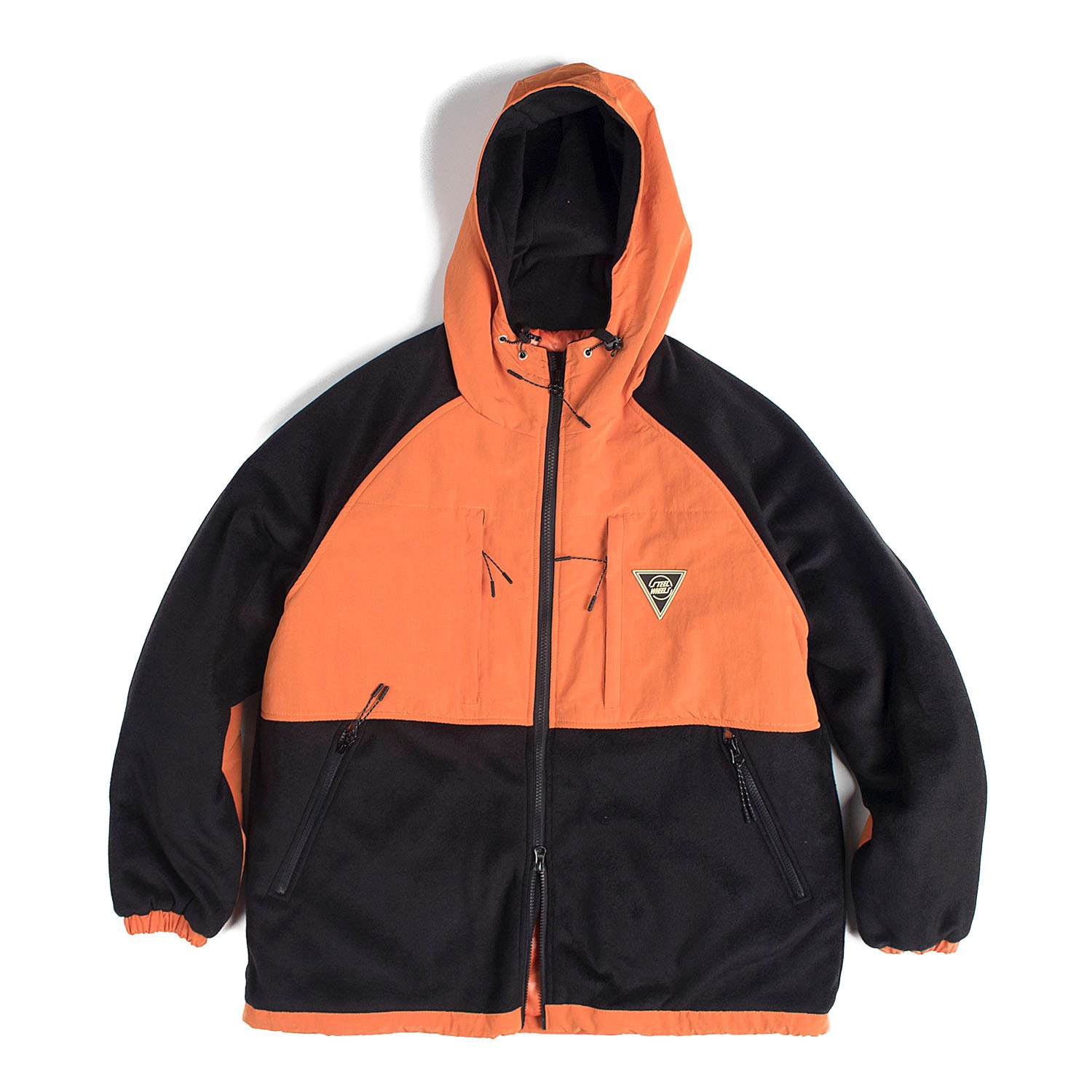 S-Fleece Parka (Orange)