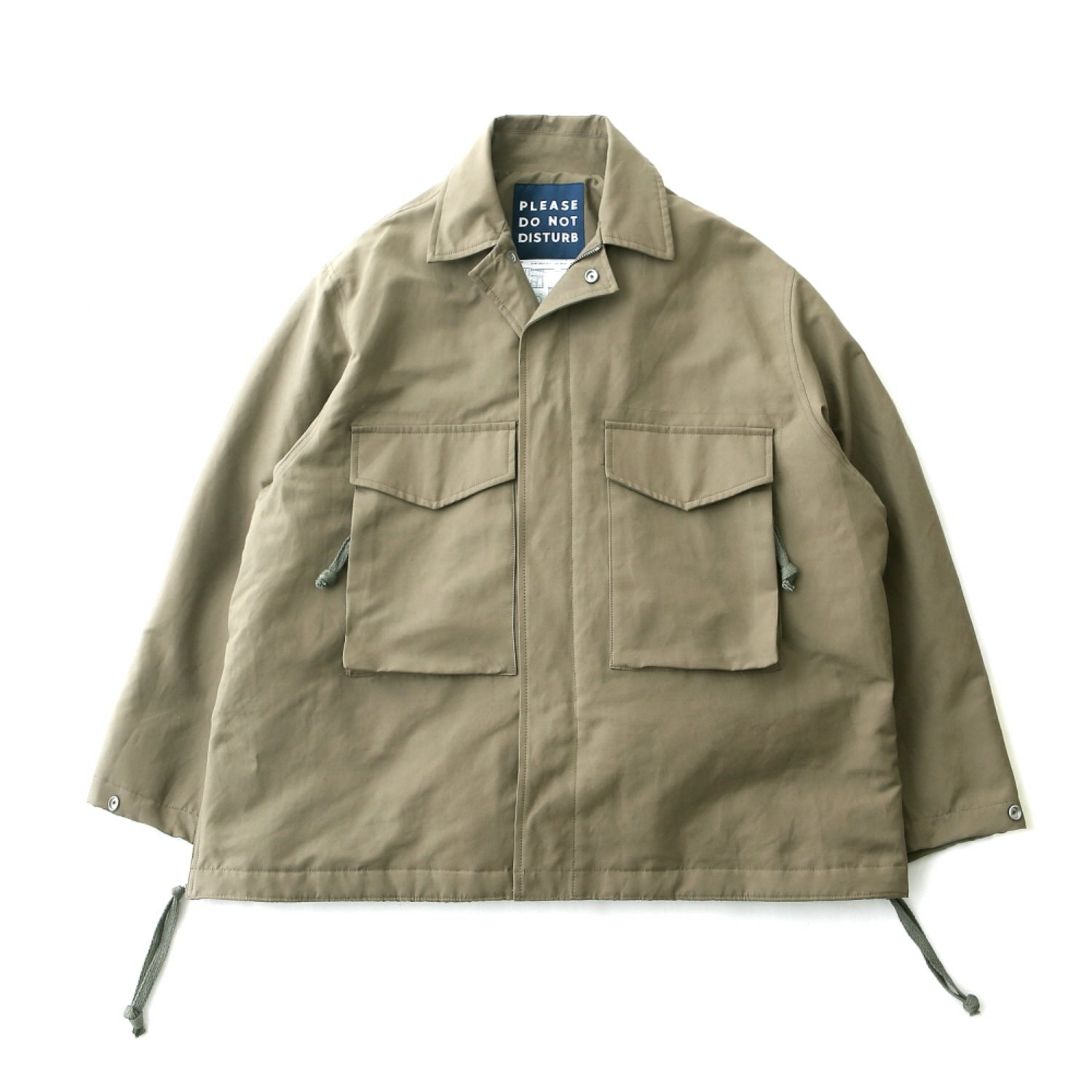 """Hotel Security M-65 Oversized Jacket -3M Thinsulate (Military)"