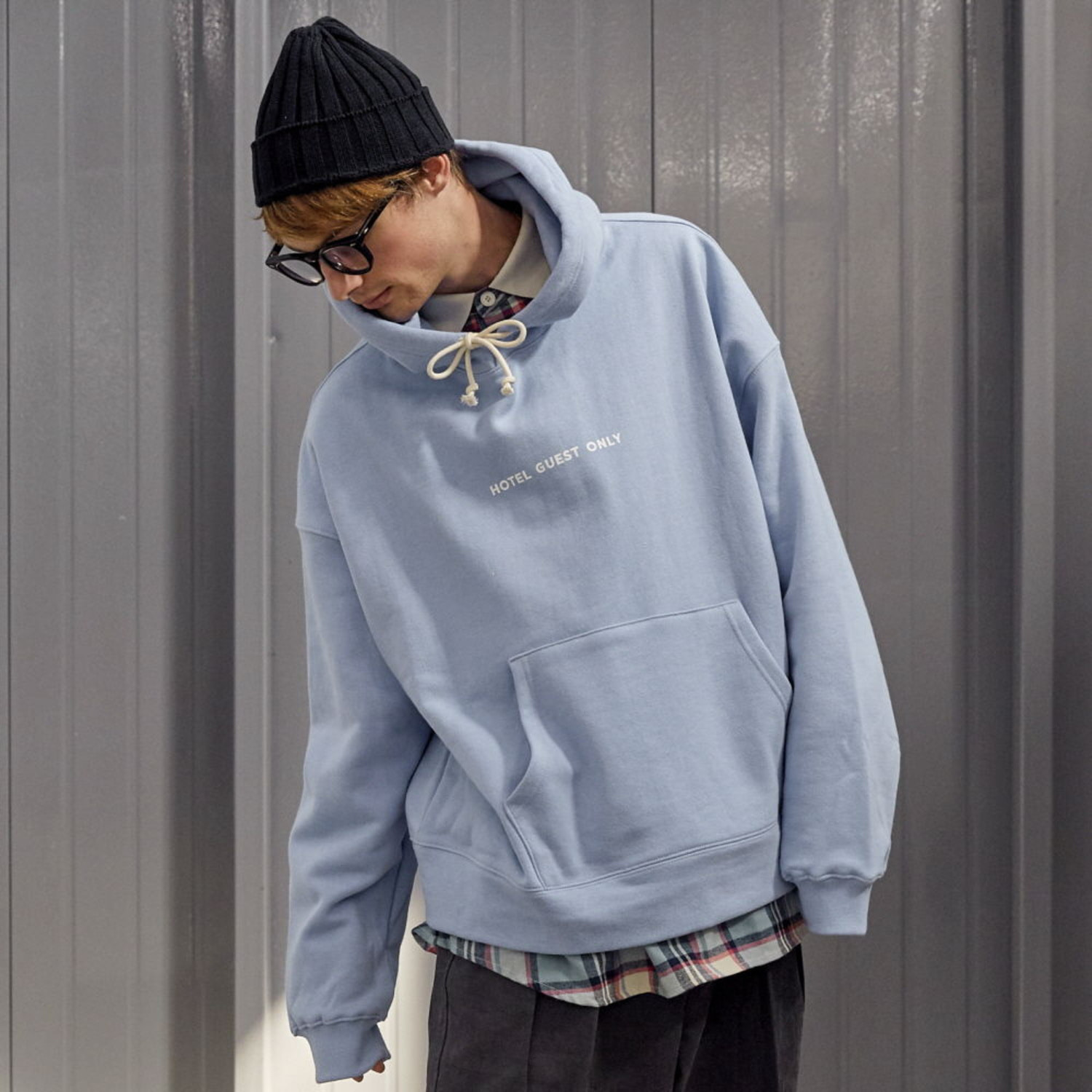 HOTEL GUEST ONLY HEAVY WEIGHT OVERSIZED HOODIE (SERENITY)