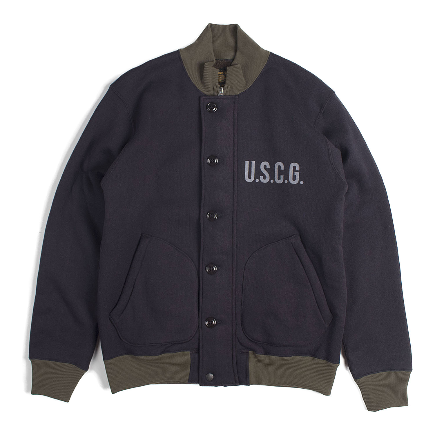 Sweat Deck Jacket (Navy)
