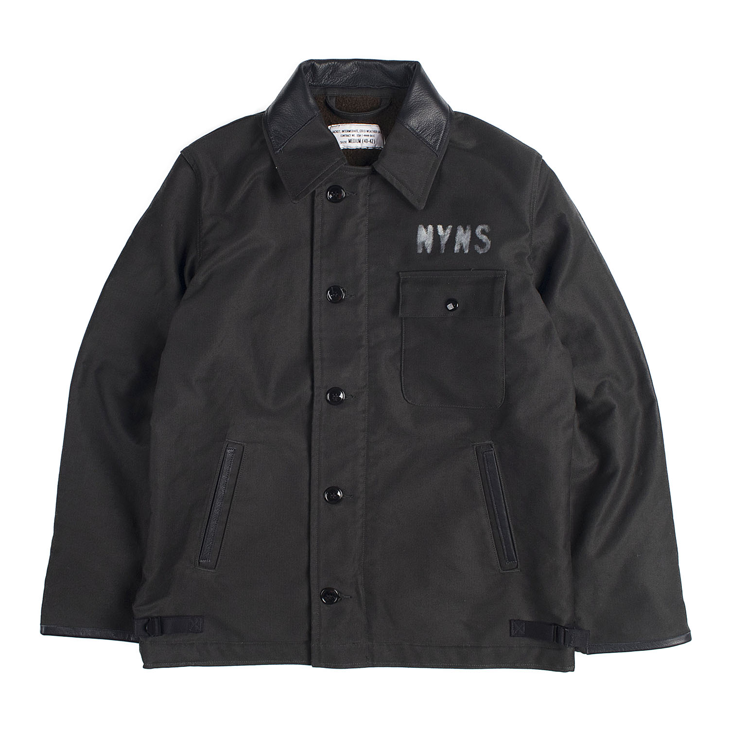 A-2 Deck Jacket (Black)