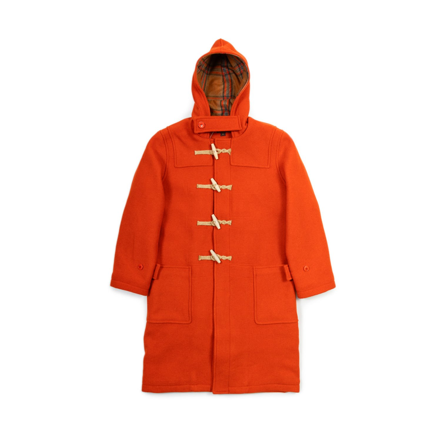 Big Union Duffle Coat (Orange)