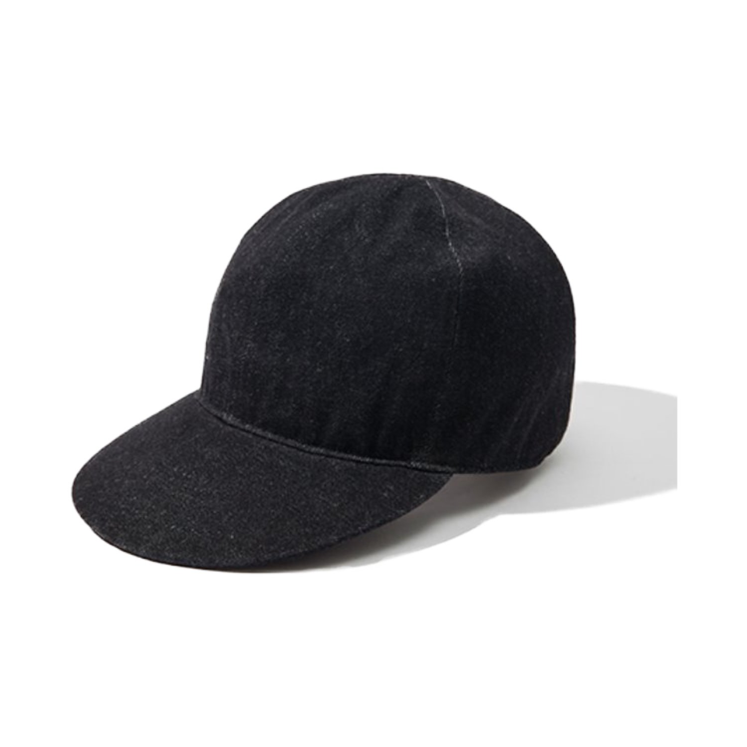 A-3 MECHANIC CAP (Black Denim)