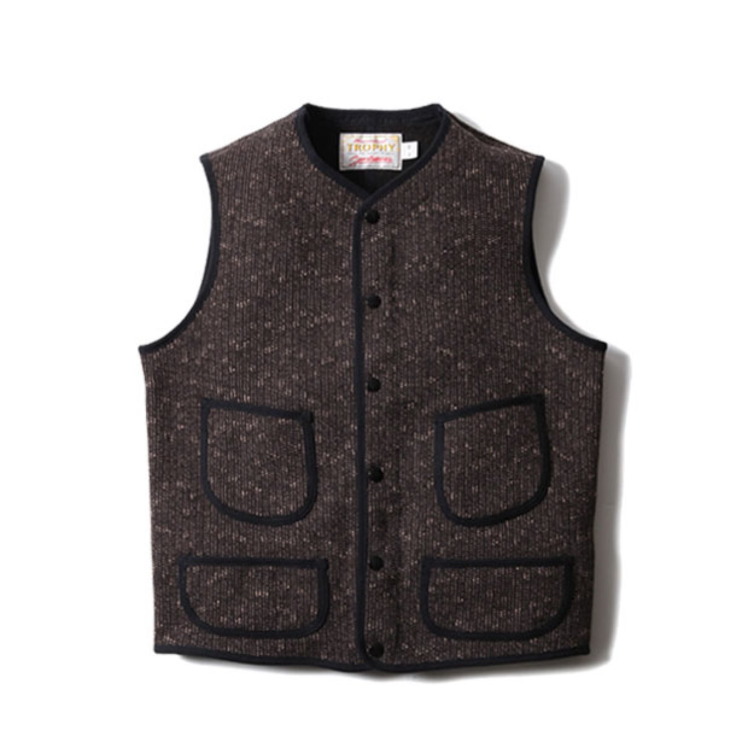 Beach Cloth Vest (Brown)
