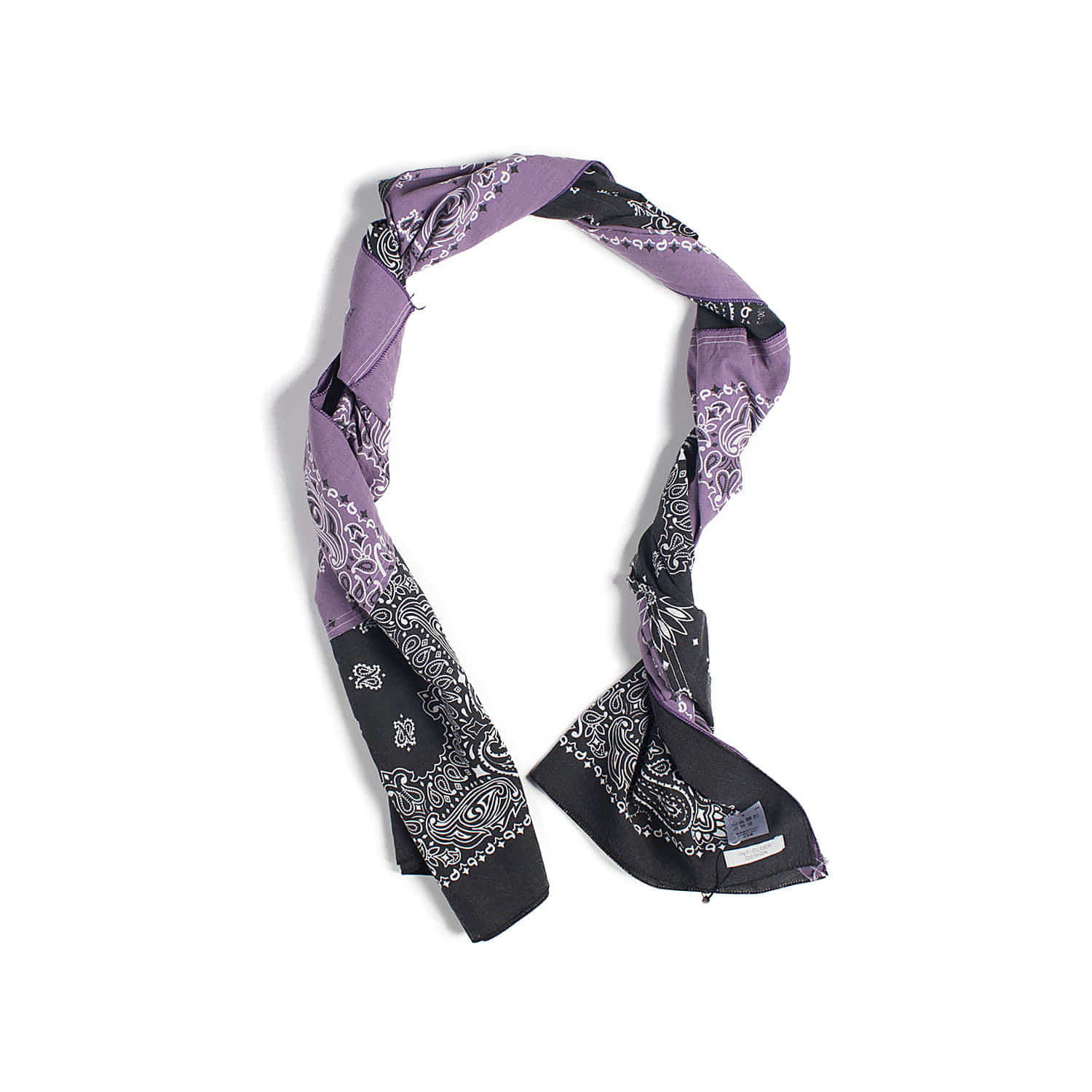 AC-84 Bandana Stall (Purple & Black)