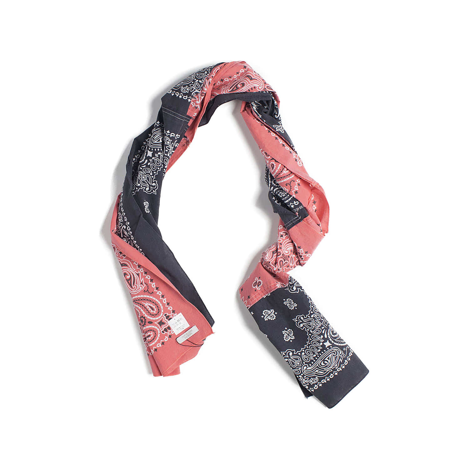AC-84 Bandana Stall (Orange & Black)