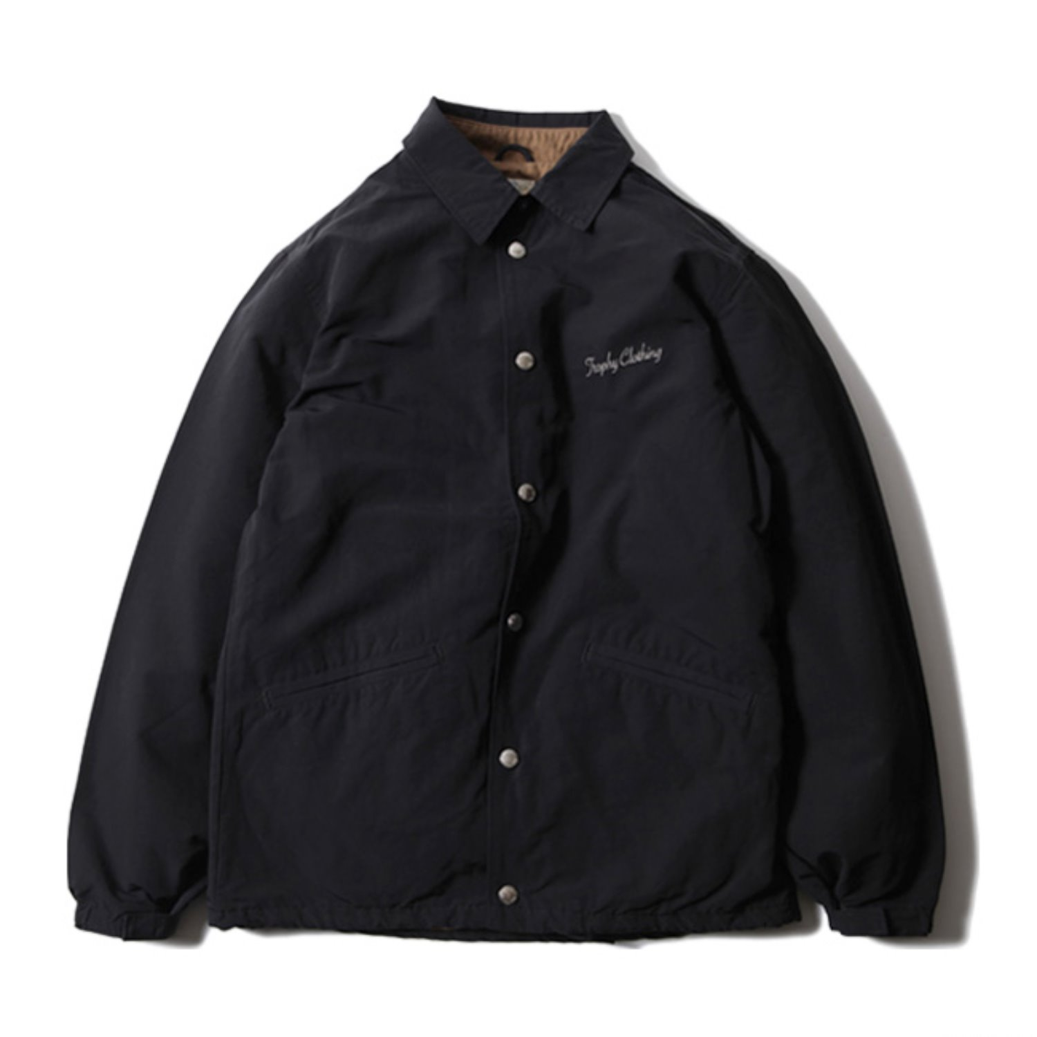 Box Logo Warm Up Jacket (Black)