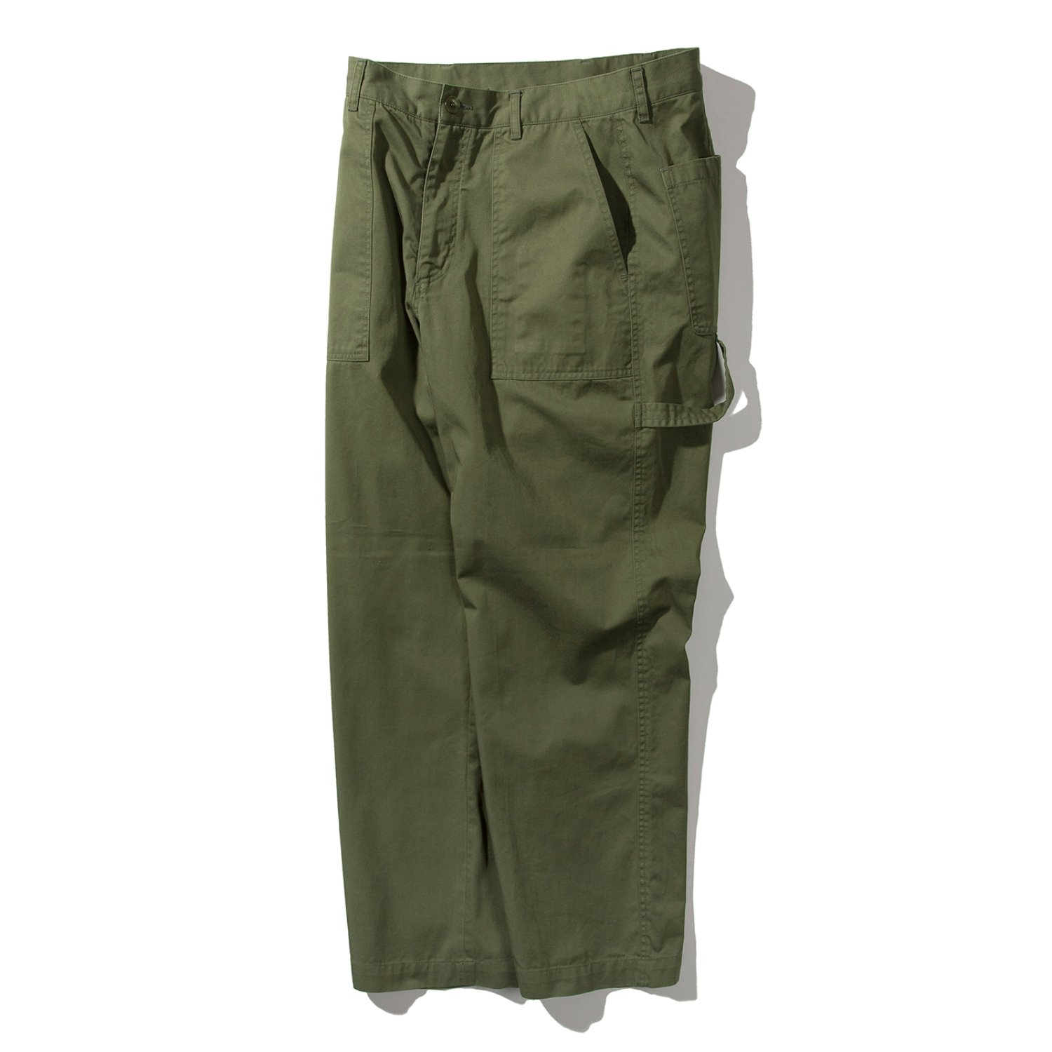 Washed Painter Pants (Olive)