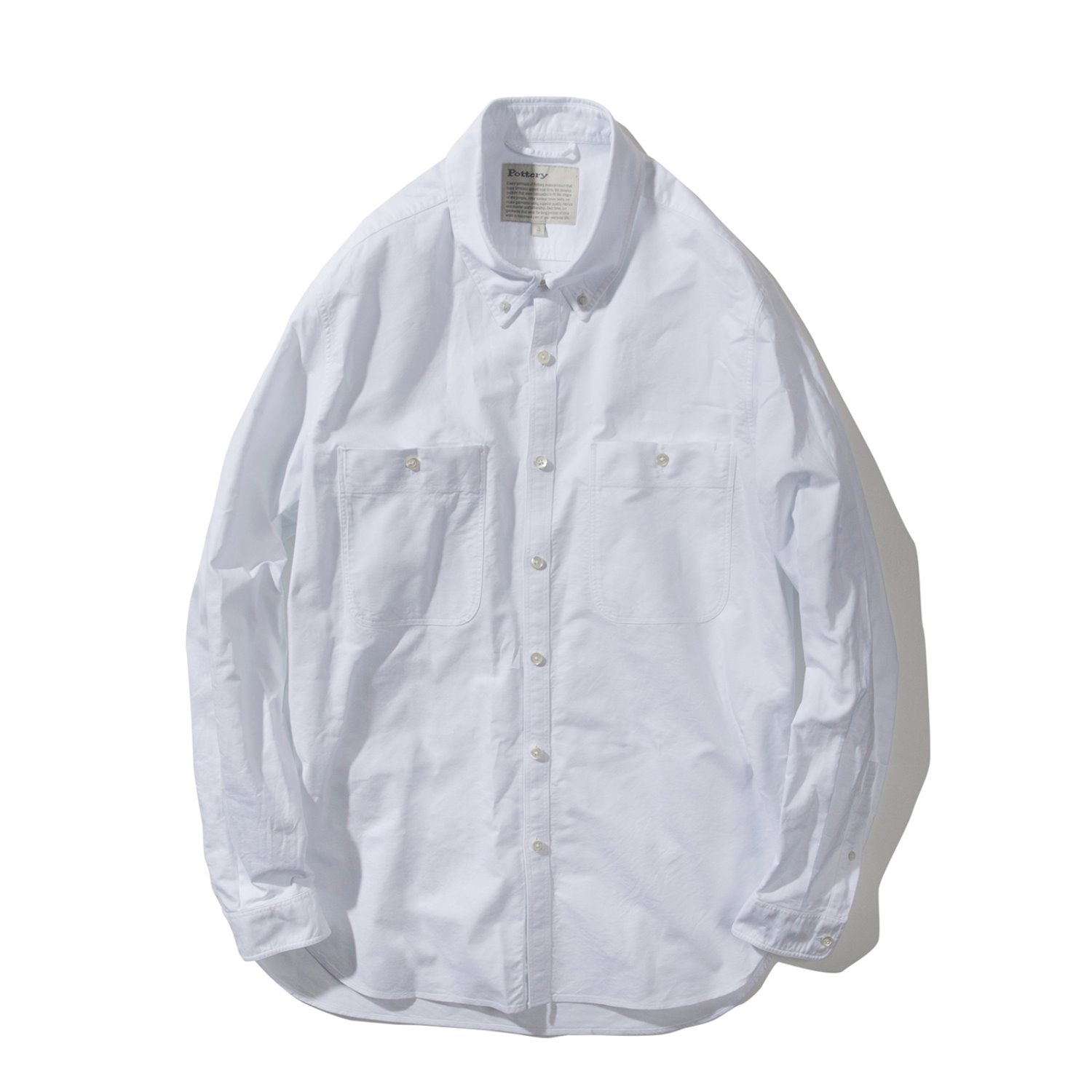Button Down Shirt (White)