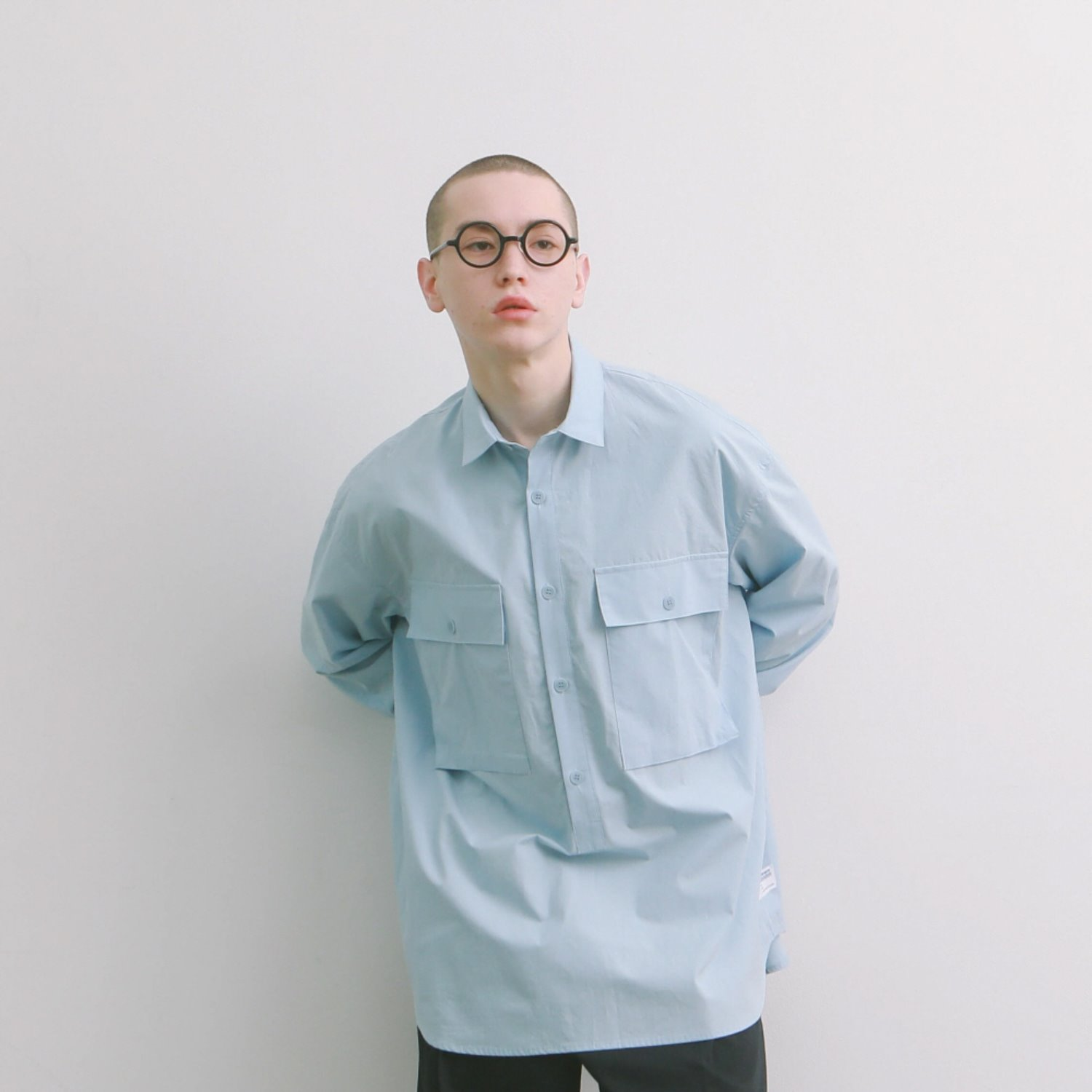 Lobby Boy Pullover Shirts Type 2 (Light Blue)