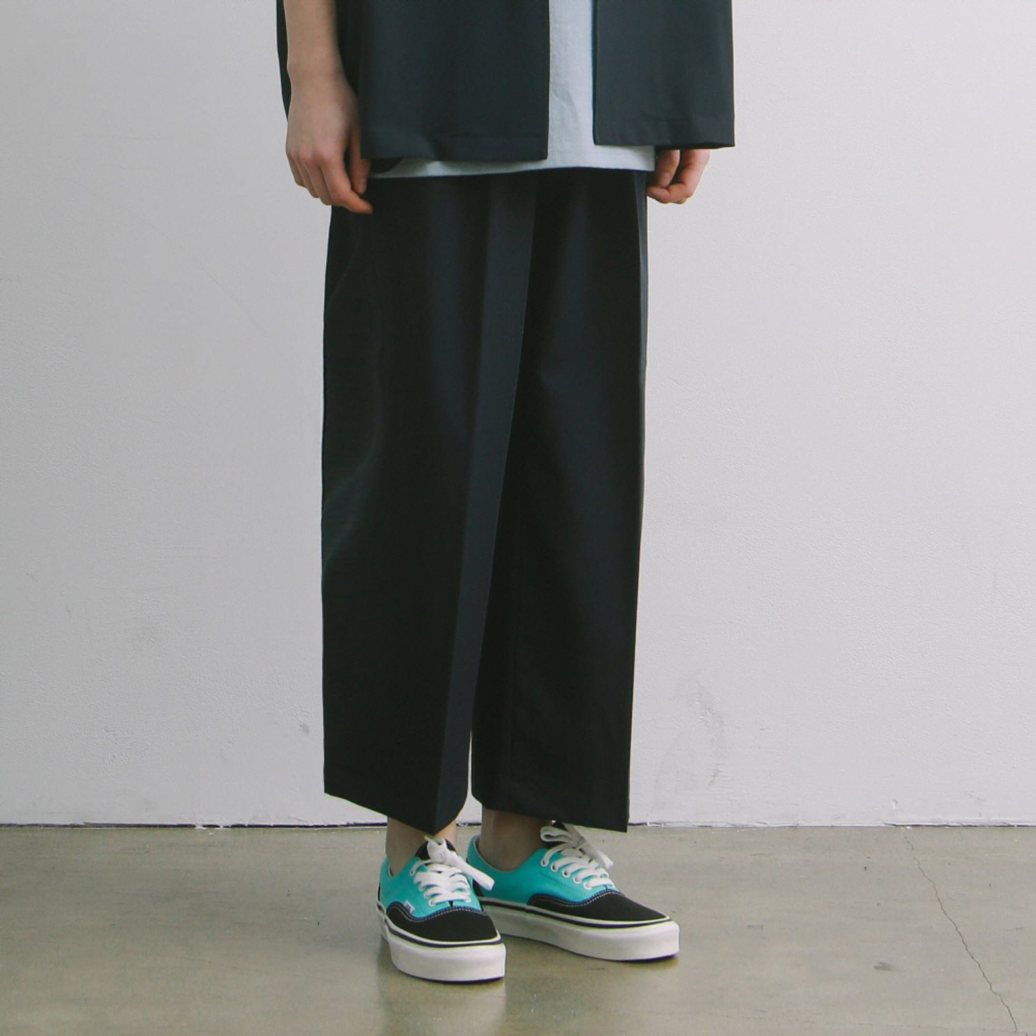 Concierge Wide Set-Up TR Pants Type2 (Navy)