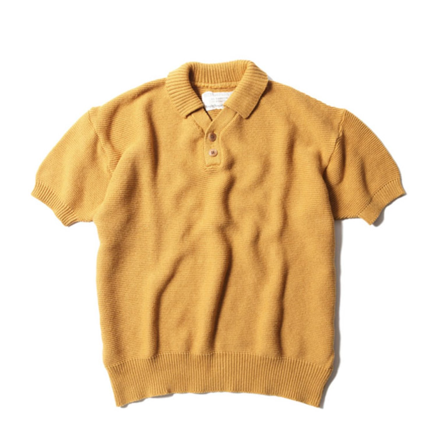 Red Cross Summer Polo (Mustard)