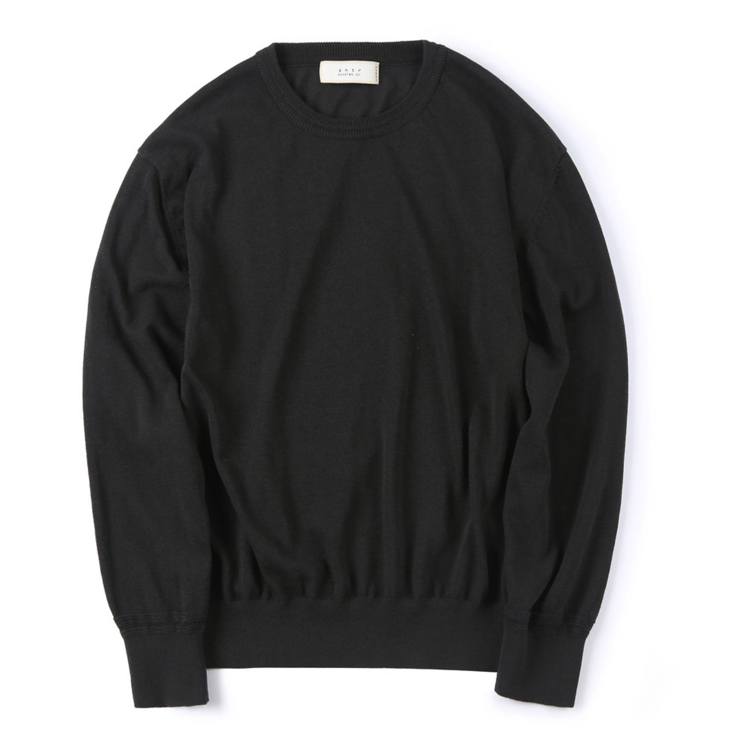 Shirter Sturdy Linen Knit (Black)