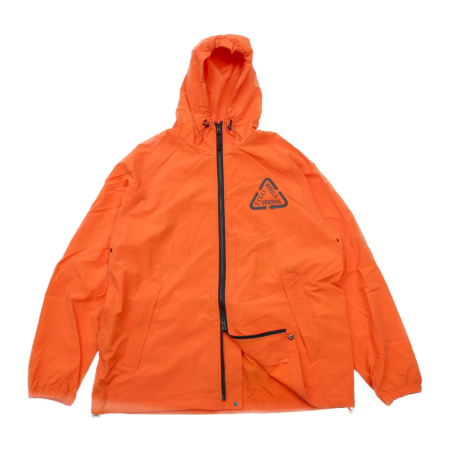 Steelwheels Reflective Nylon JKT (Orange)