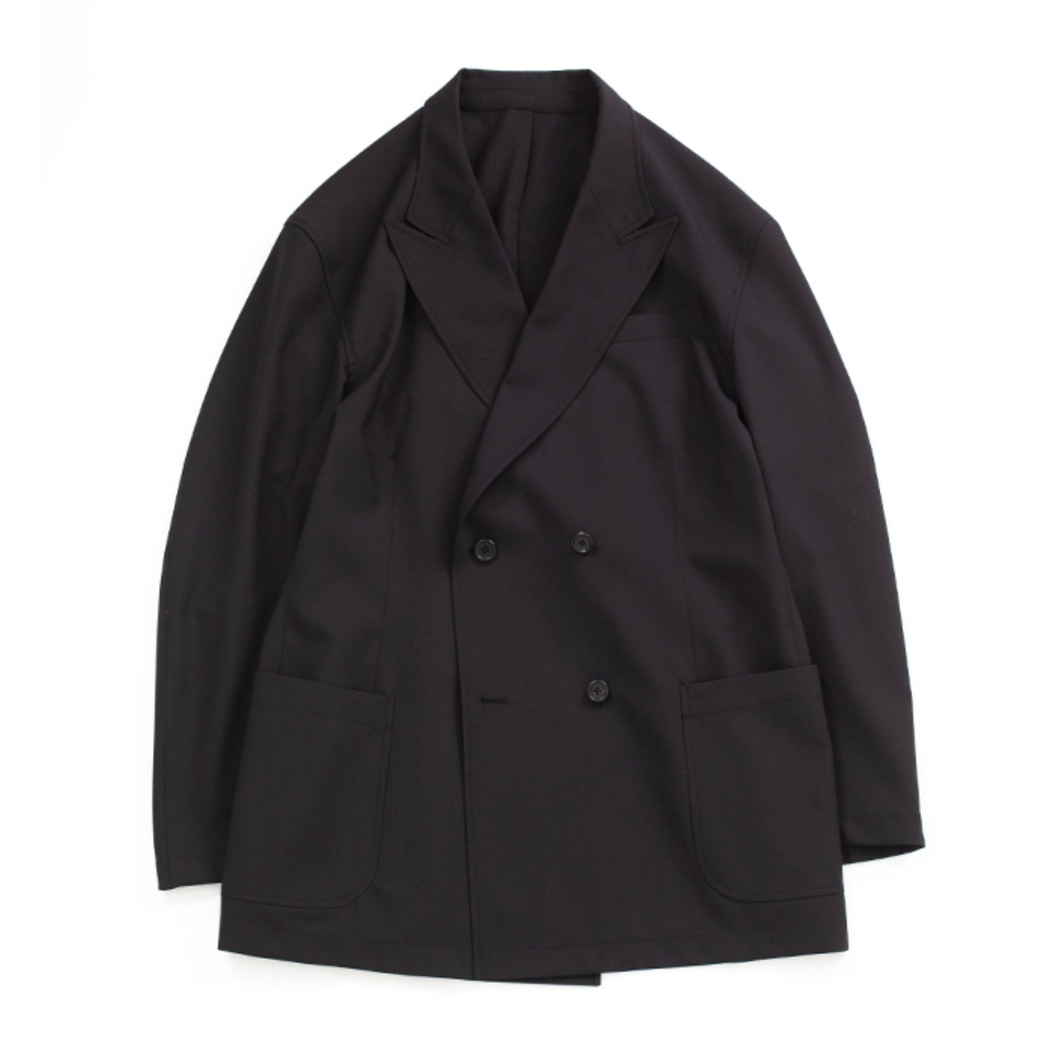Brownyard Double Breasted Jacket (Black)